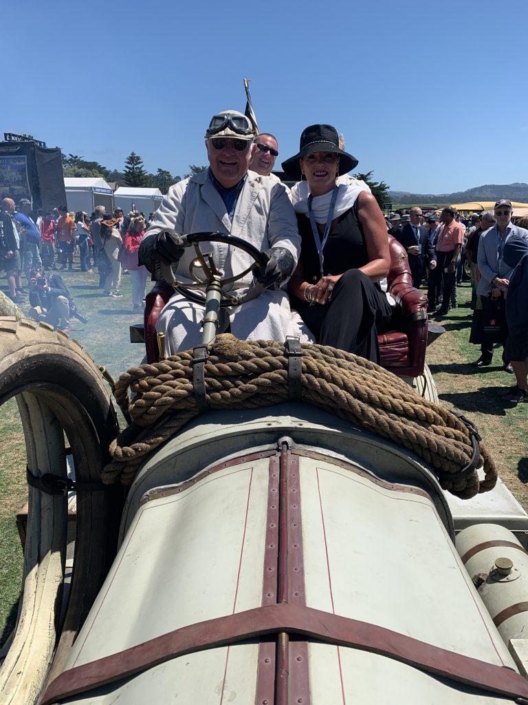 Diane Parker 1907 Thomas Flyer Pebble Beach 2019