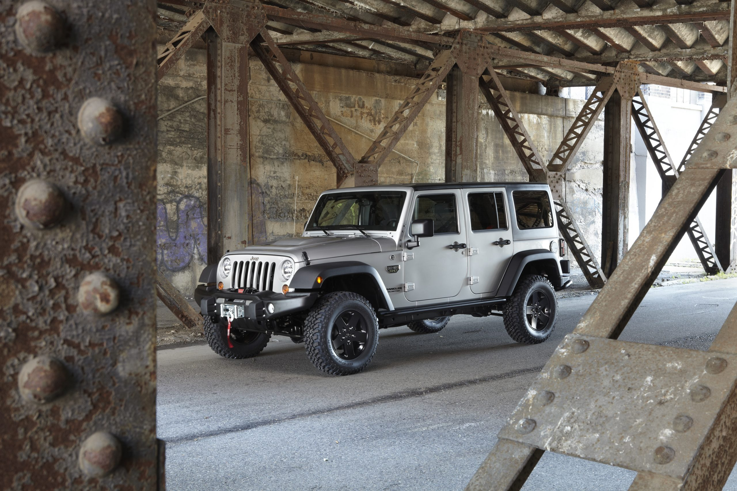 2012 Jeep Wrangler Call of Duty:Ê MW3 Special Edition