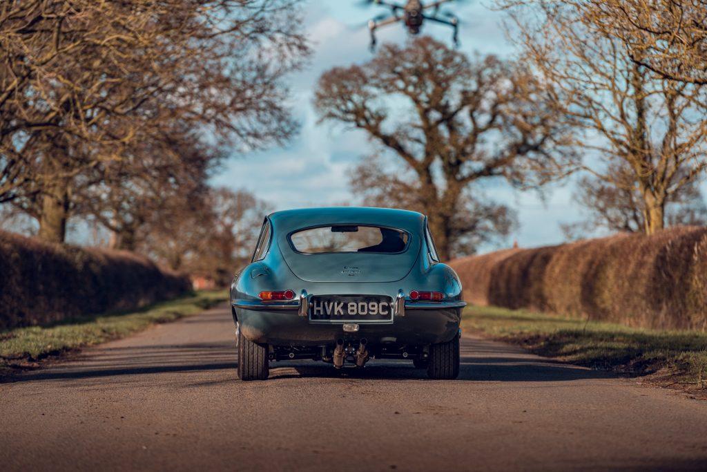 Jaguar E-Type Reborn 1965 Series 1 4.2 rear