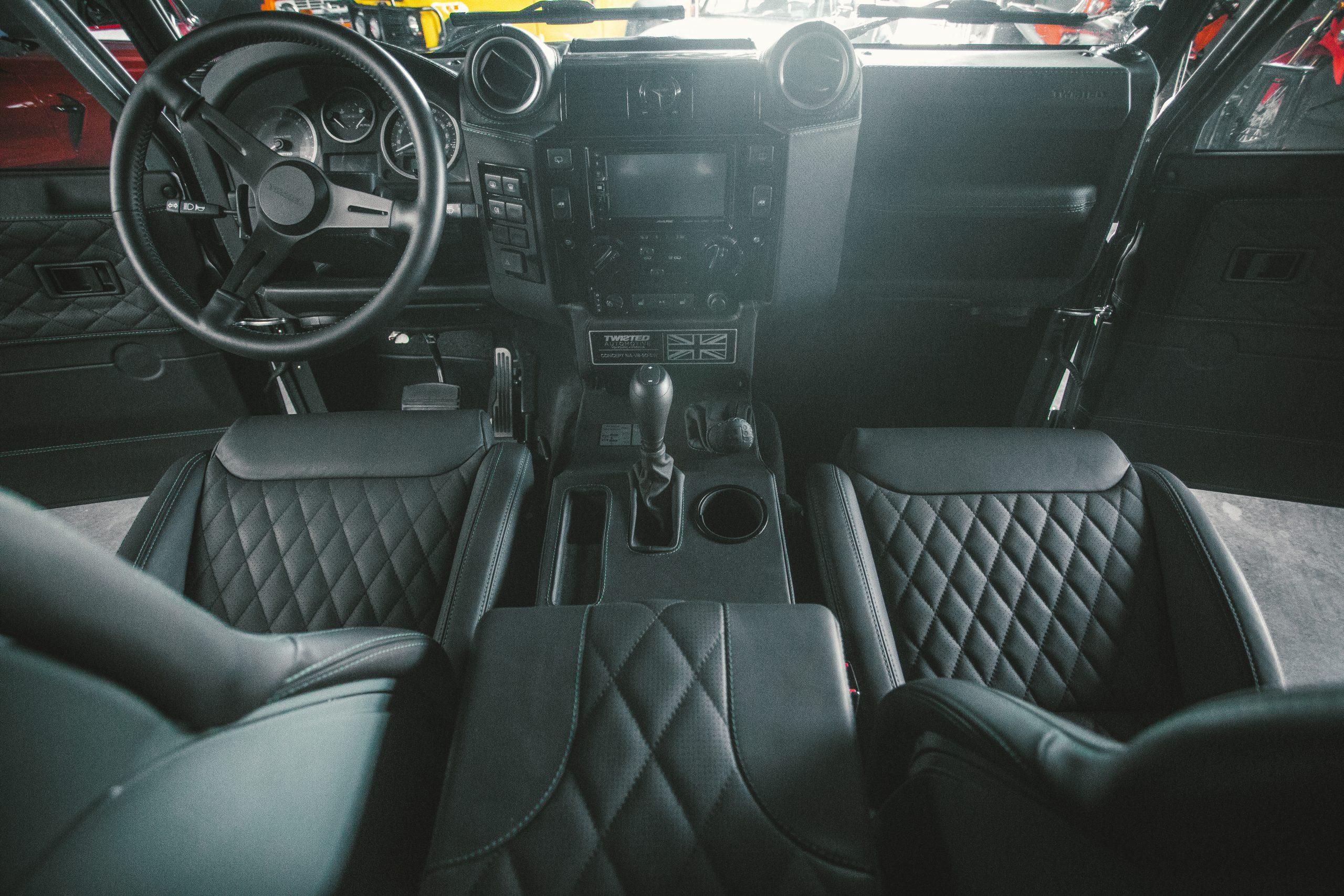 Twisted interior