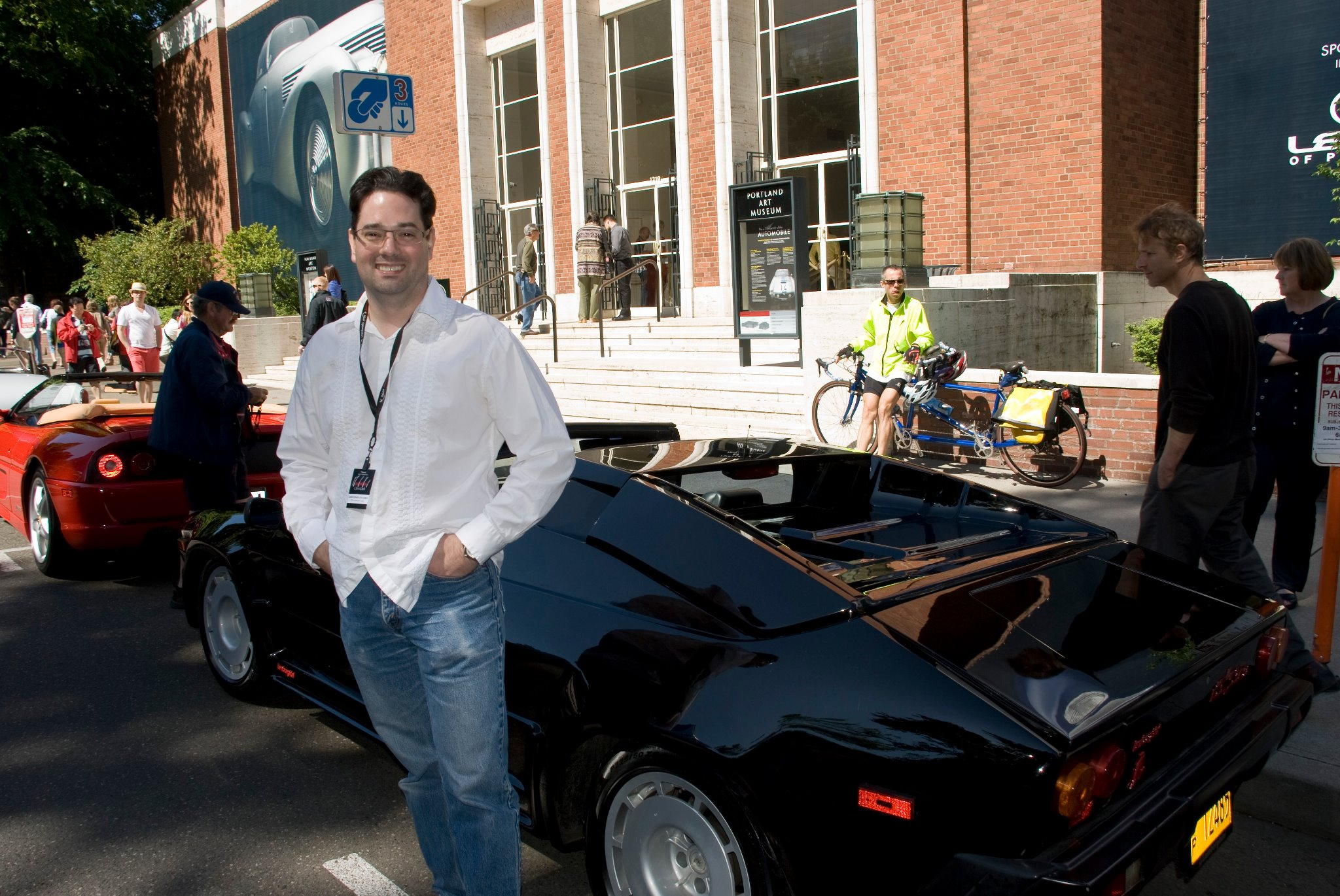 1986 Lamborghini Jalpa and chris
