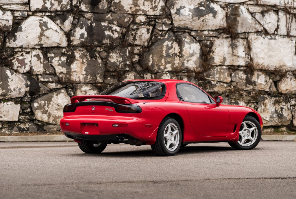 1993 Mazda RX-7 R1 rear three-quarter