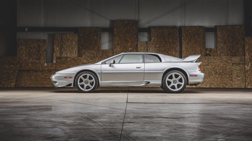 2001 Lotus Esprit V8 SE side profile