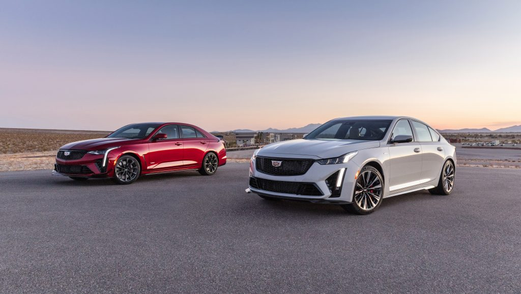 cadillac CT4-V and CT5-V Blackwings