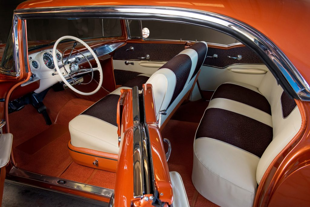 1957 Chevrolet Bel Air Convertible interior