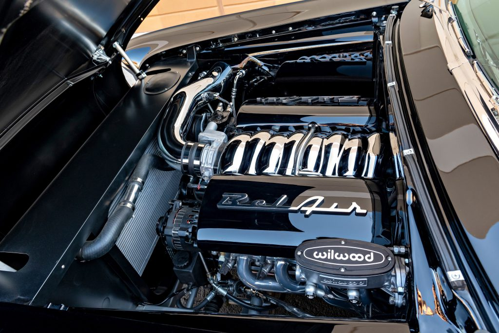Chevrolet Bel Air Custom Convertible engine