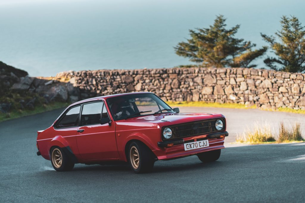 MST Mk2 front three-quarter driving action