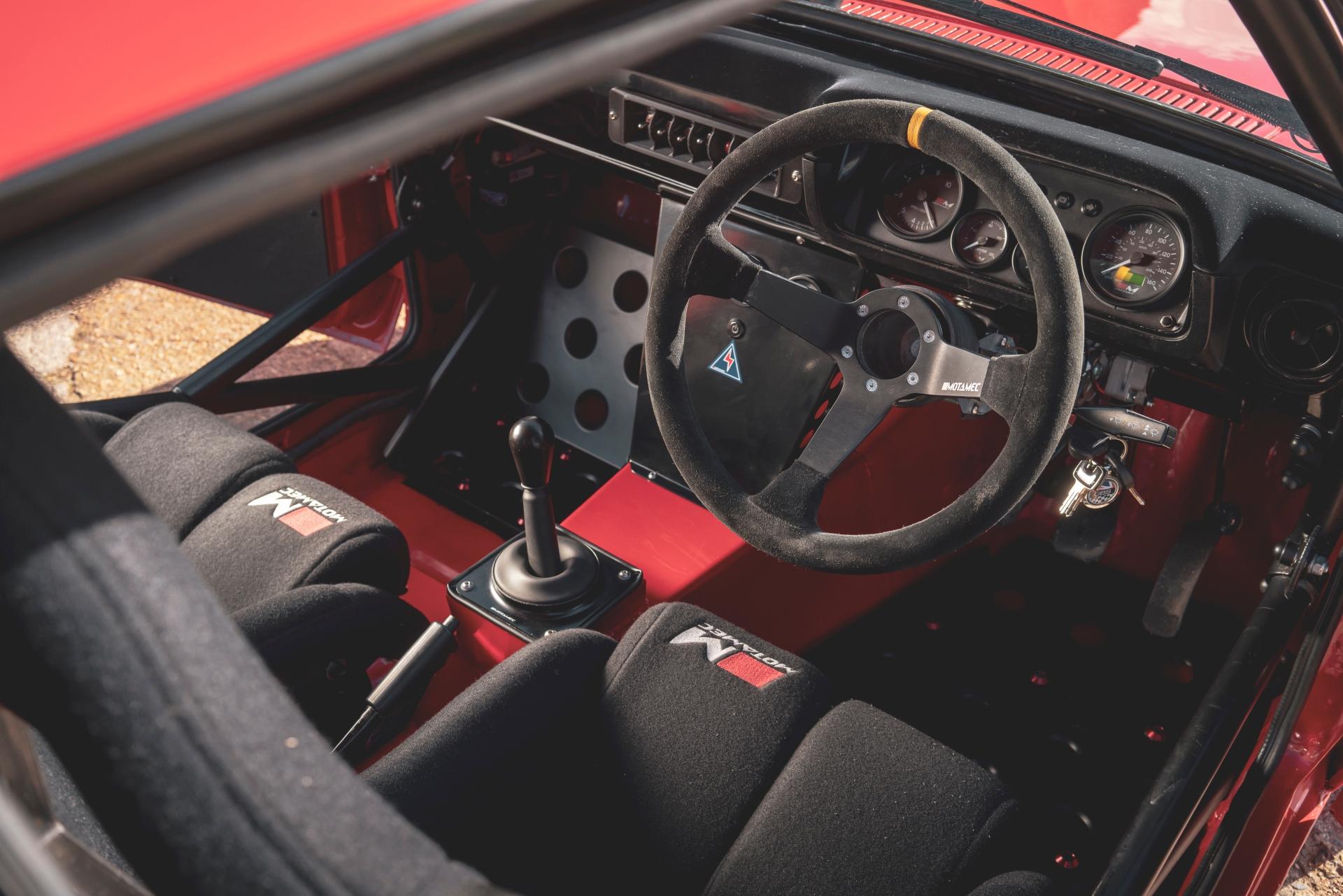 MST Mk2 interior drivers cockpit