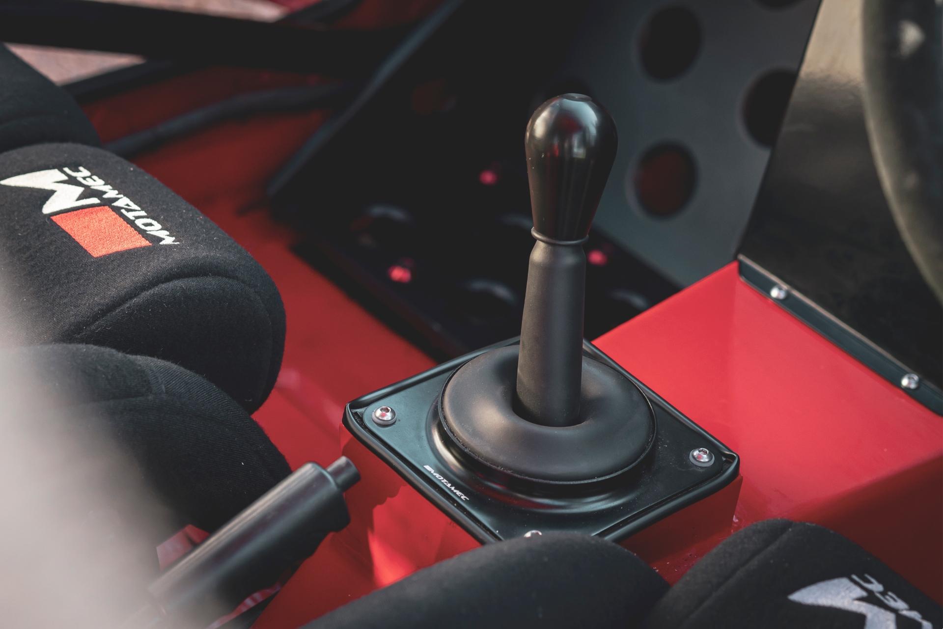 MST Mk2 shifter detail