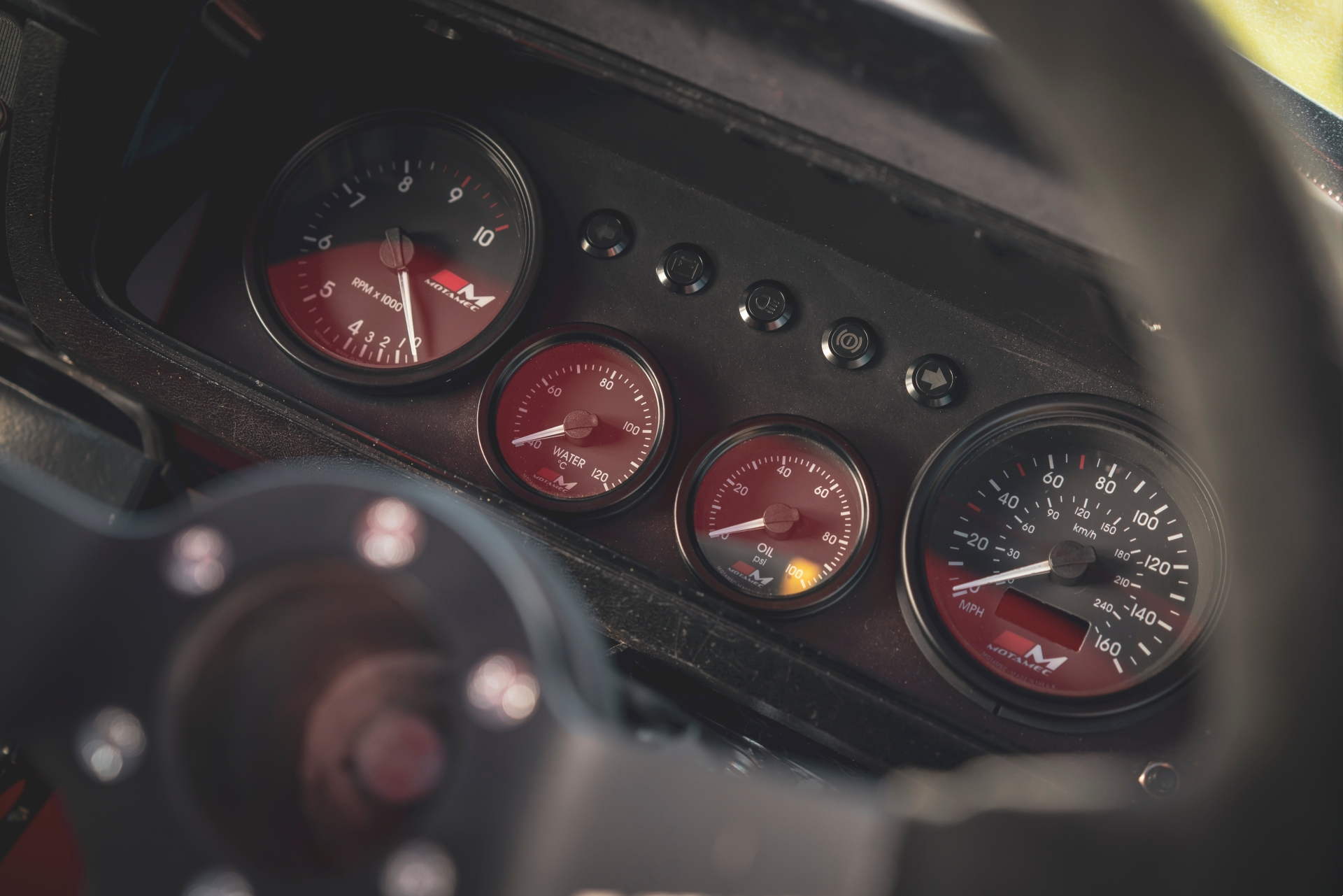 MST Mk2 interior gauges