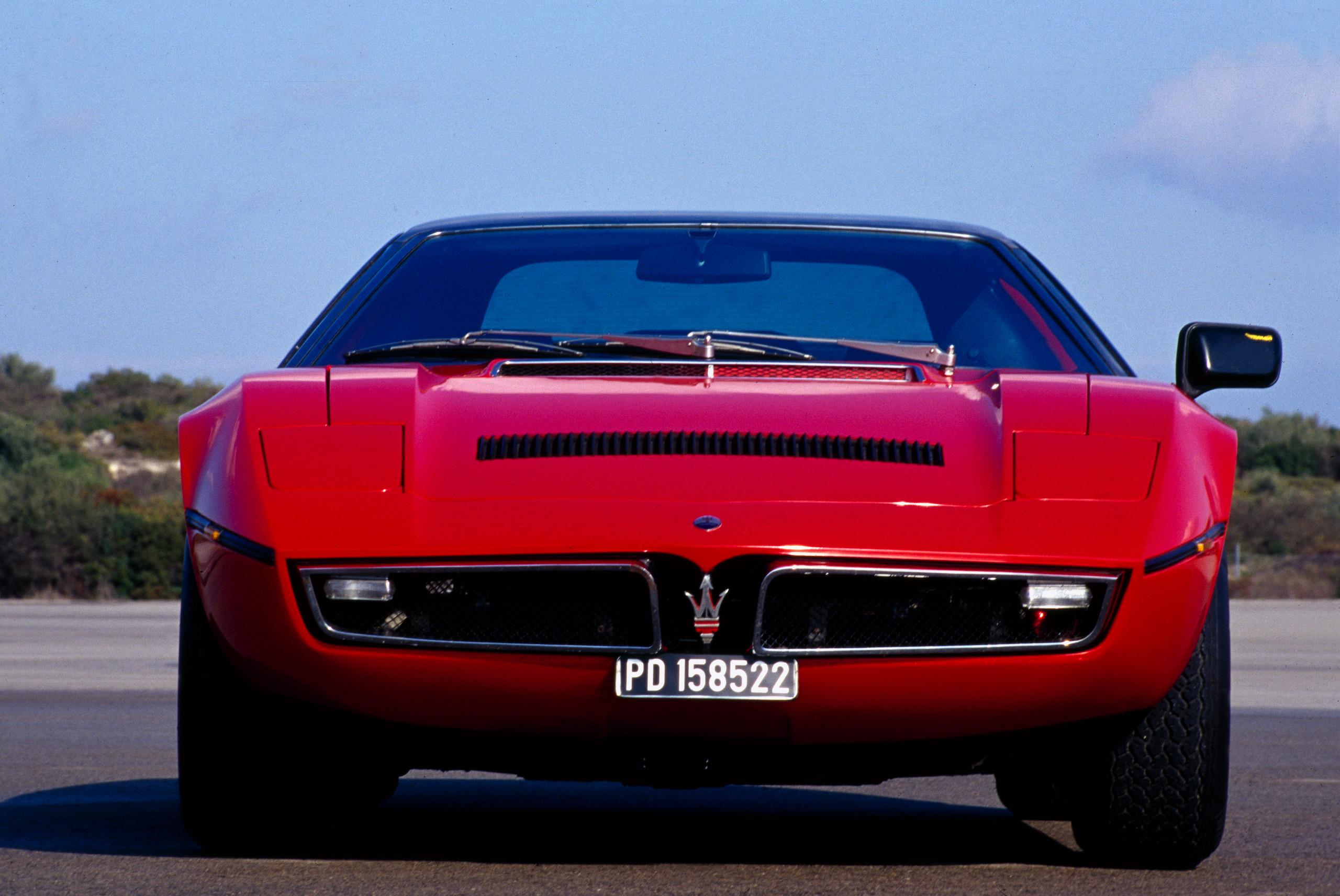 Maserati Bora front