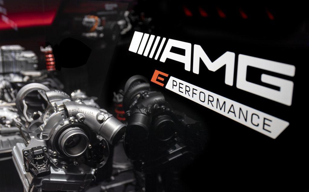 Mercedes-AMG Electrification E Performance and MGU-H Turbocharger