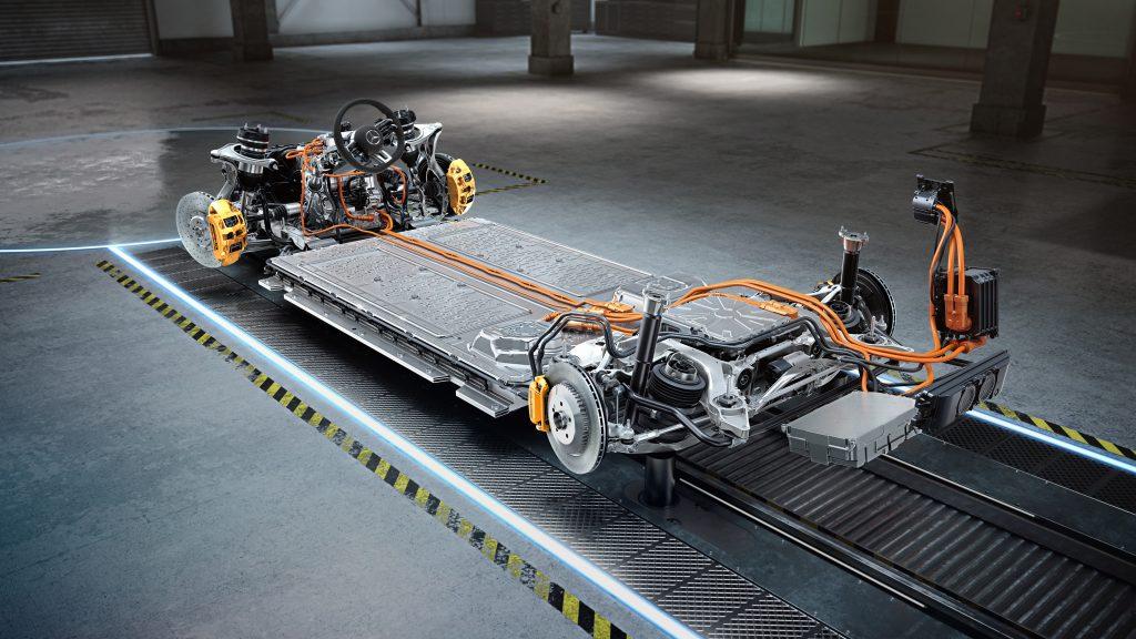 Mercedes-AMG Electrification BEV platform