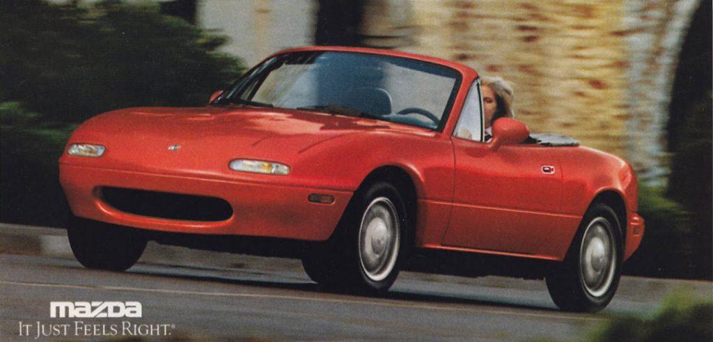 Mazda miata ad 1993