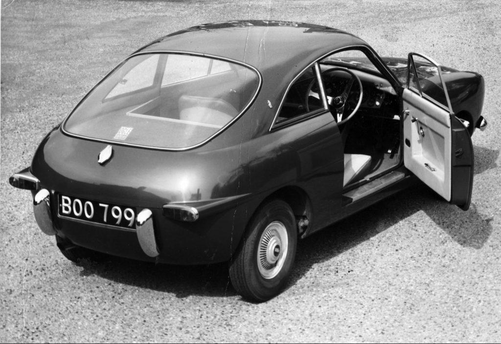 Mini Ogle SX1000 rear three-quarter