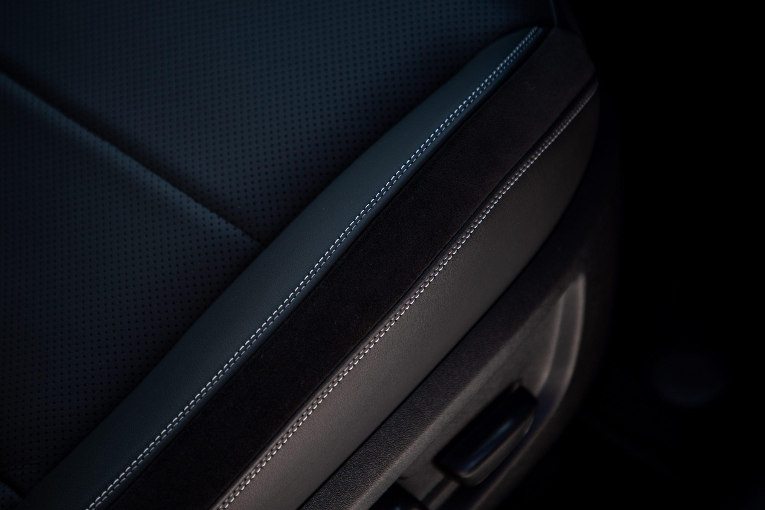 2022 Infiniti QX55 seat detail interior