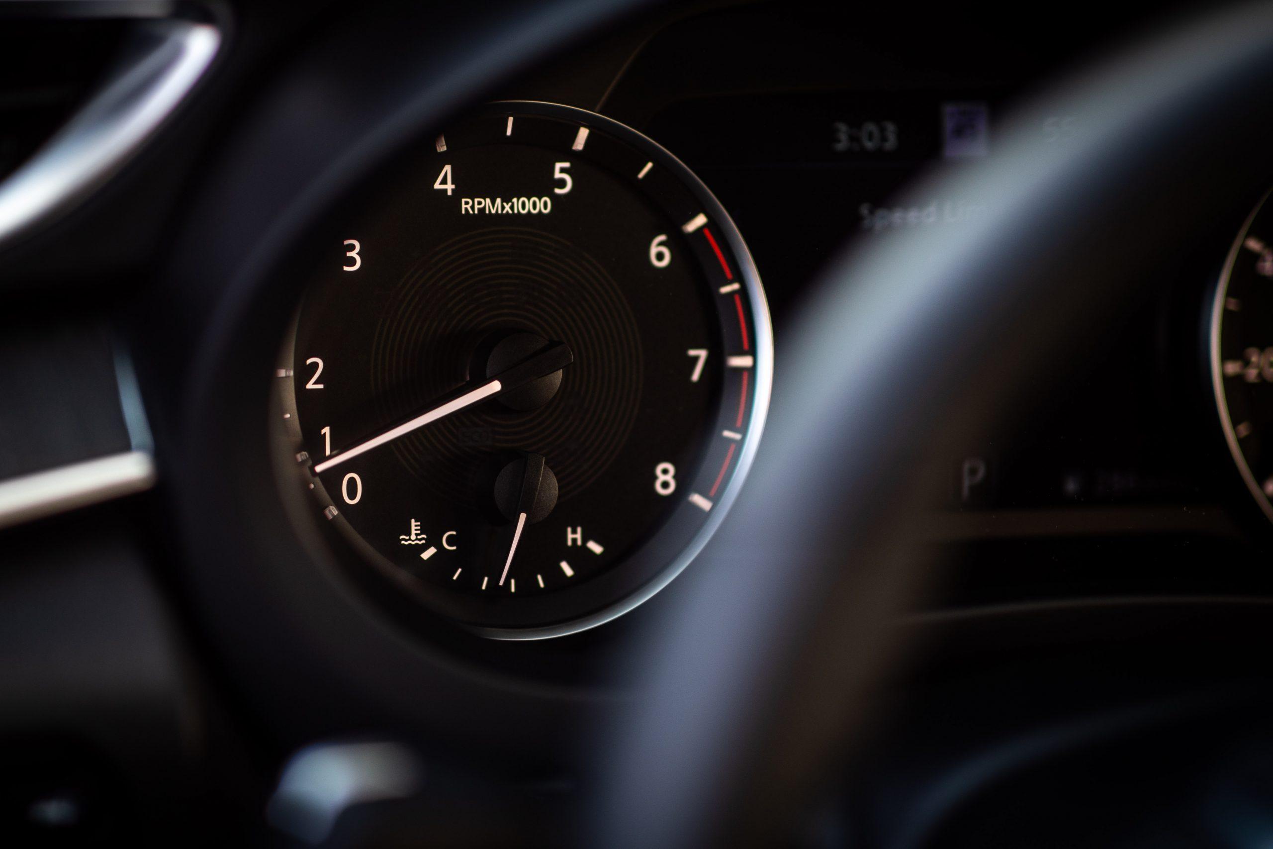 2022 Infiniti QX55 interior tachometer instrument gauge