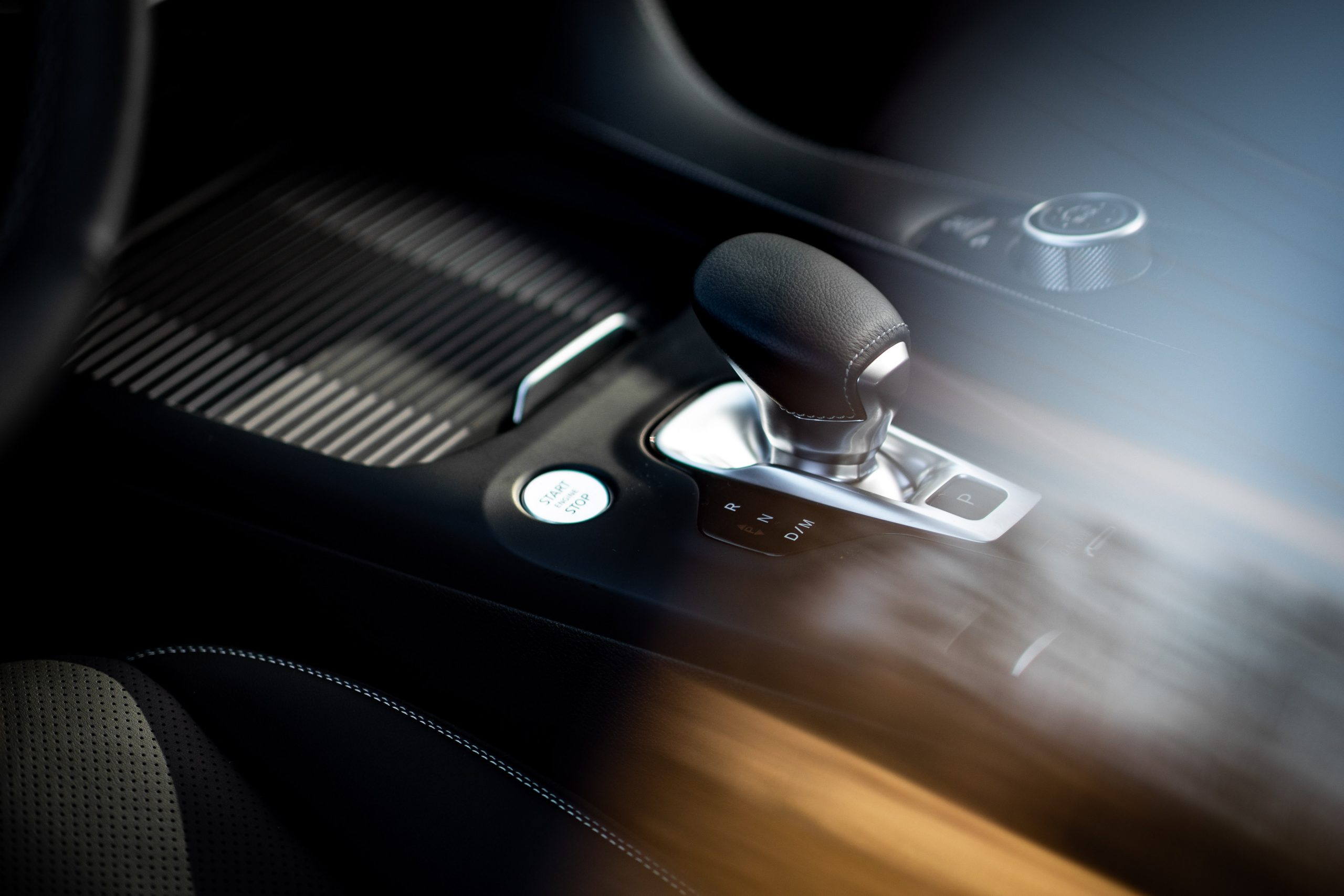 2022 Infiniti QX55 interior shifter