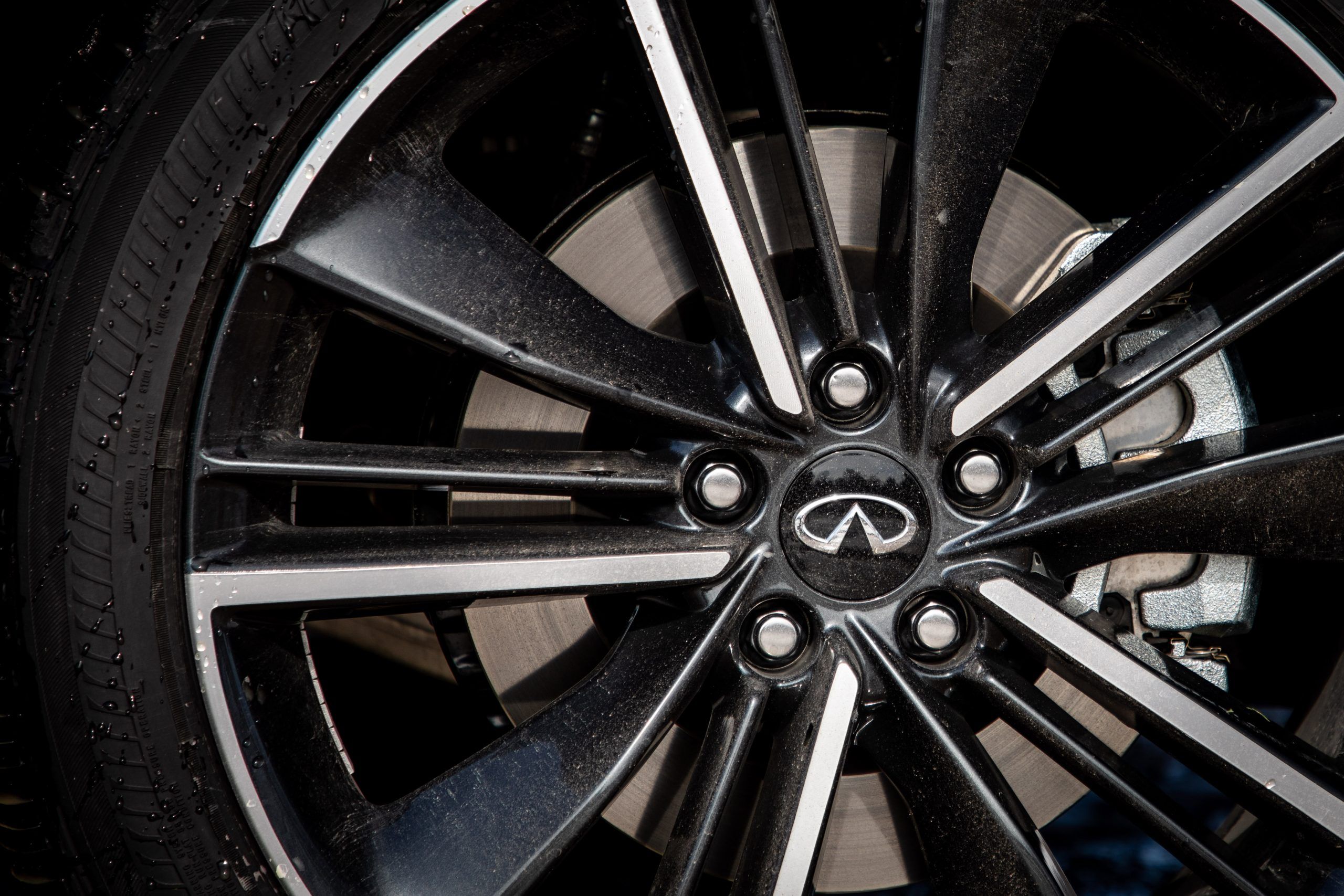 2022 Infiniti QX55 wheel detail