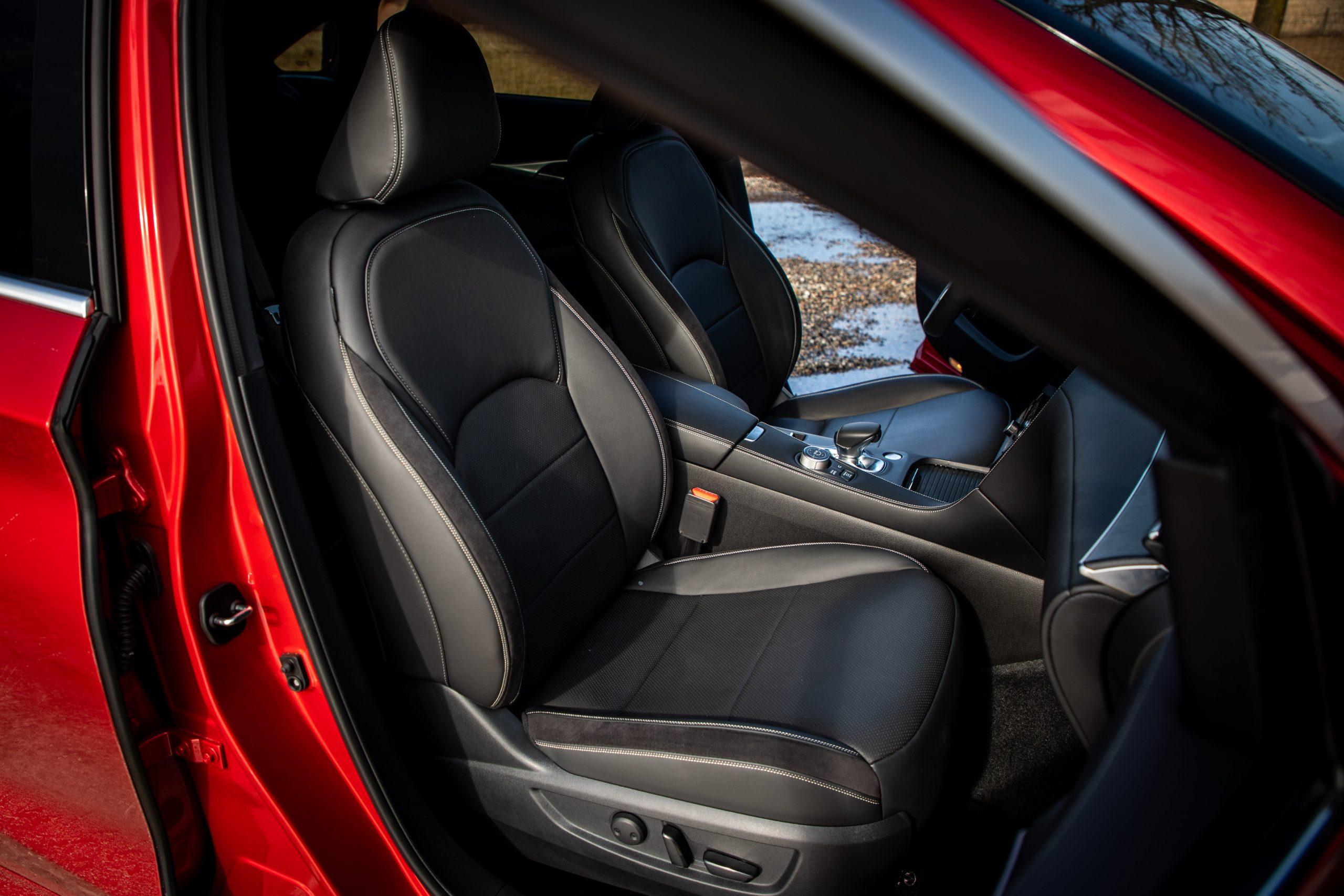 2022 Infiniti QX55 interior passenger seat