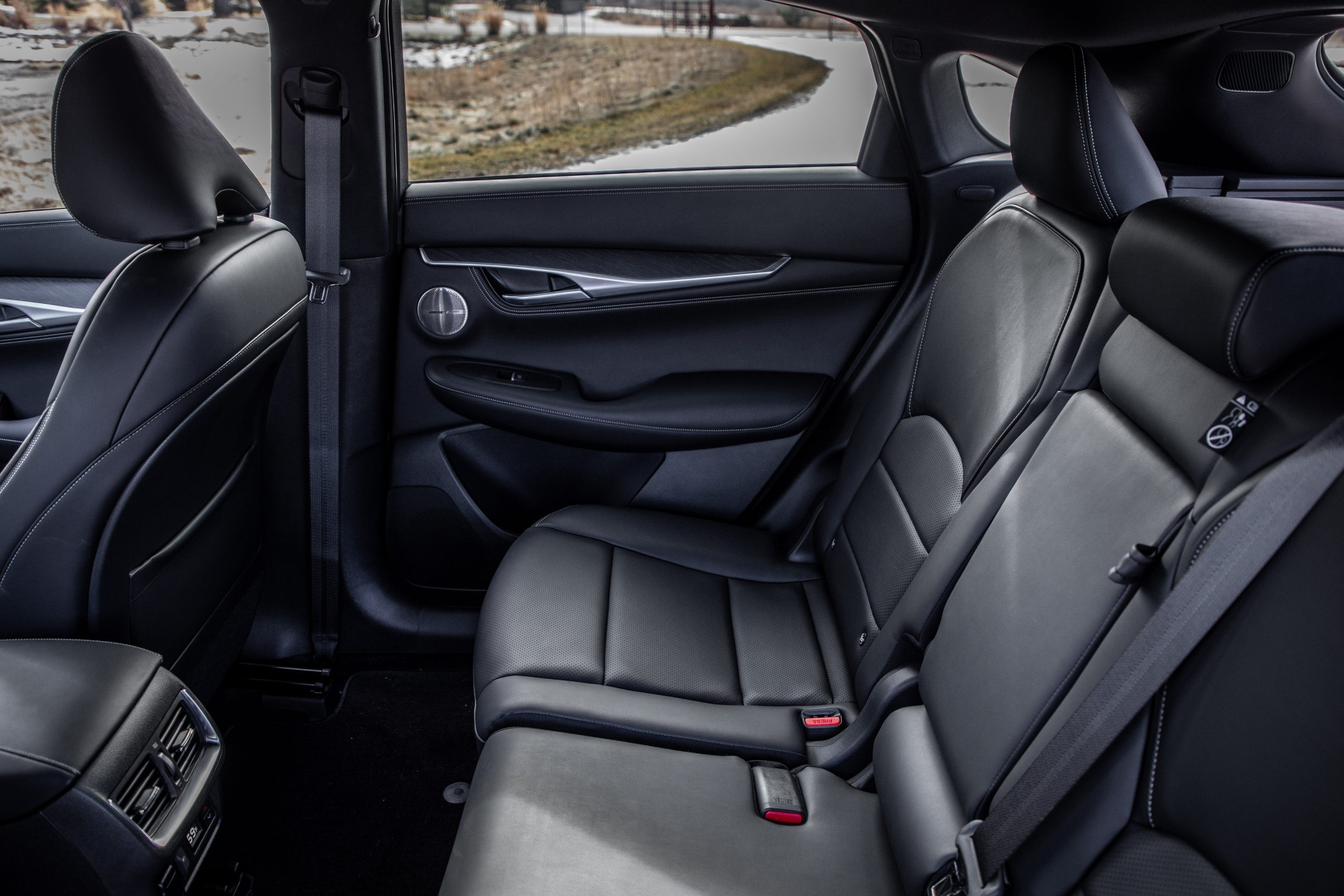 2022 Infiniti QX55 interior rear seats