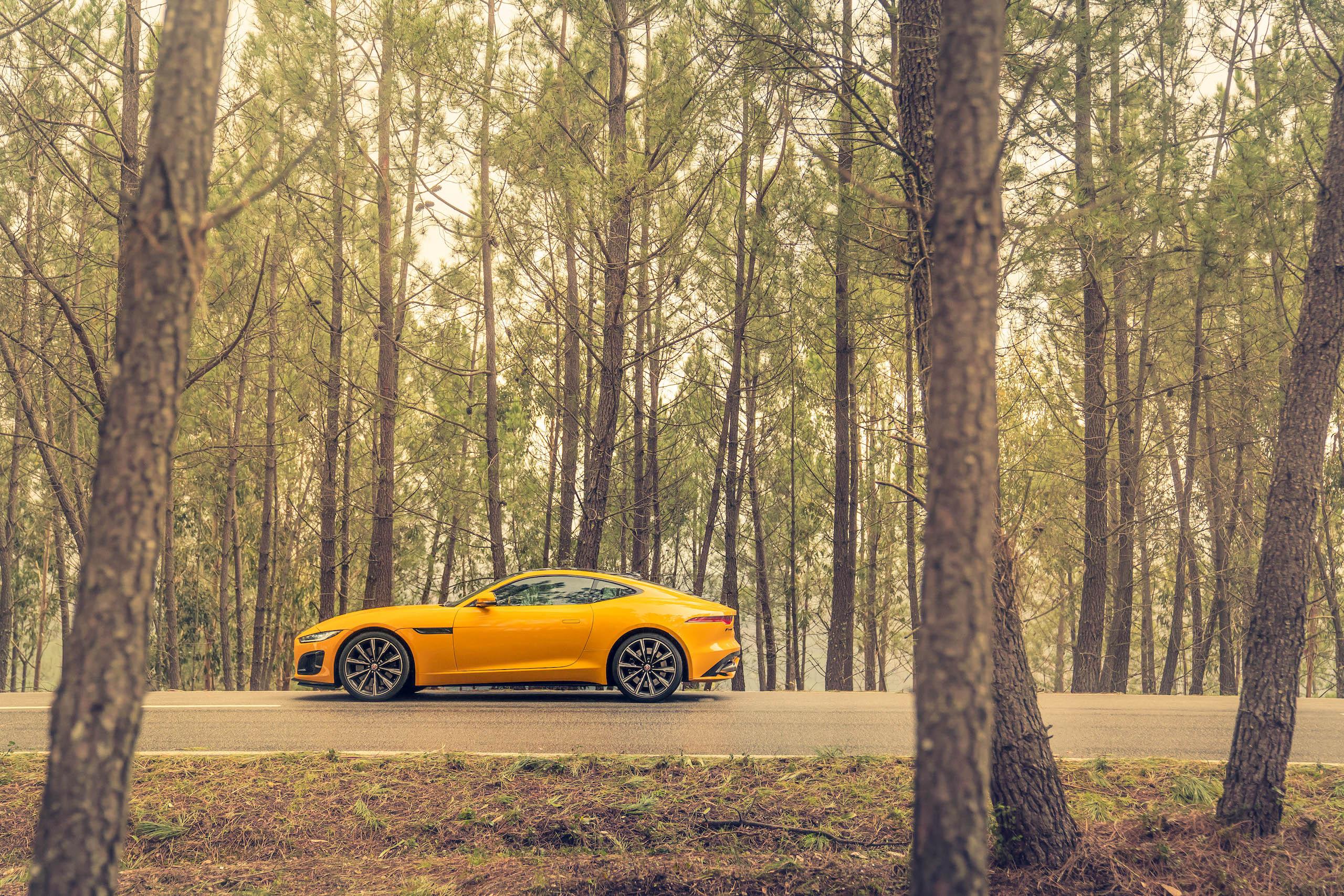 2021 Jaguar F-TYPE_R Coupe side profile