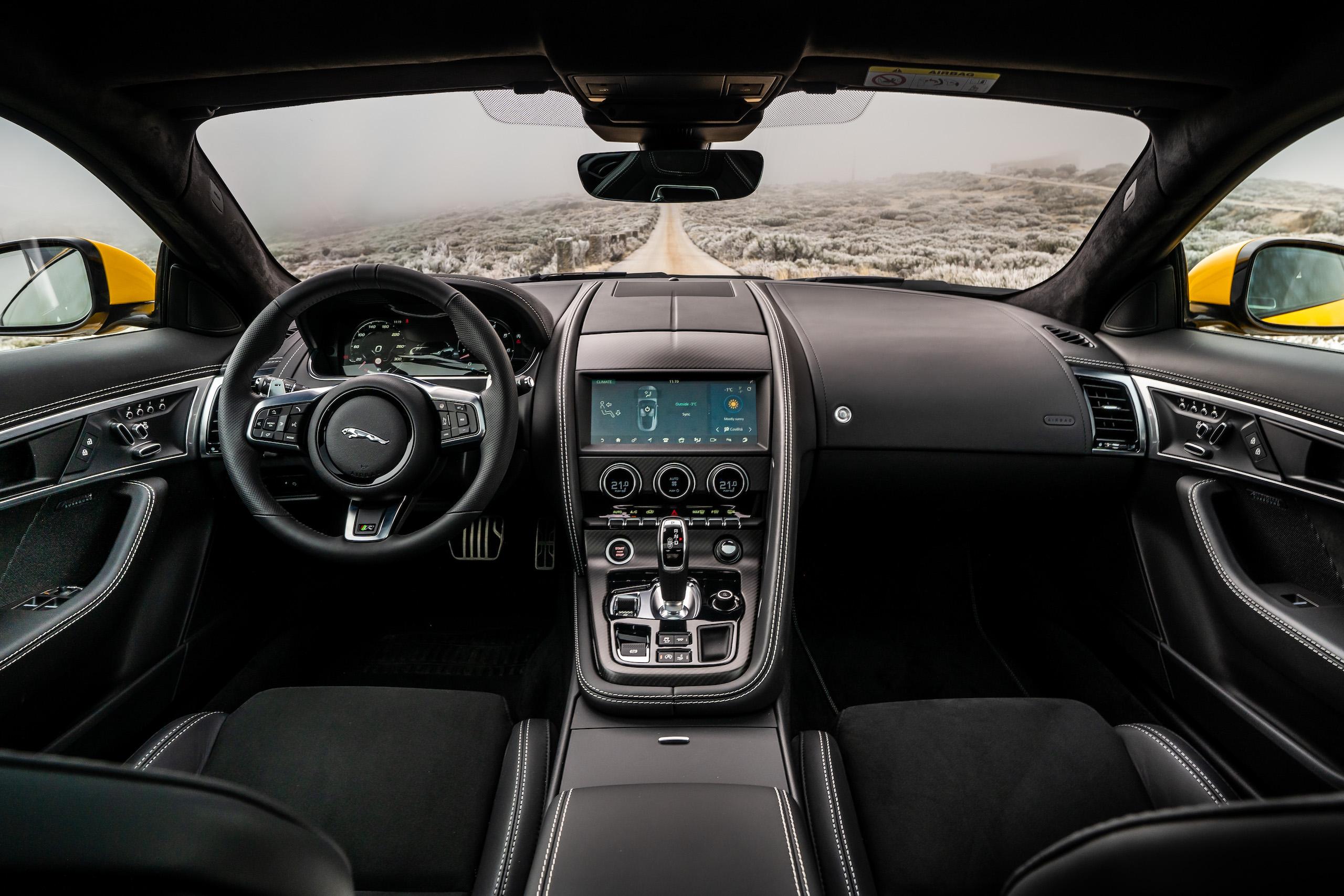 2021 Jaguar F-TYPE_R Coupe interior front