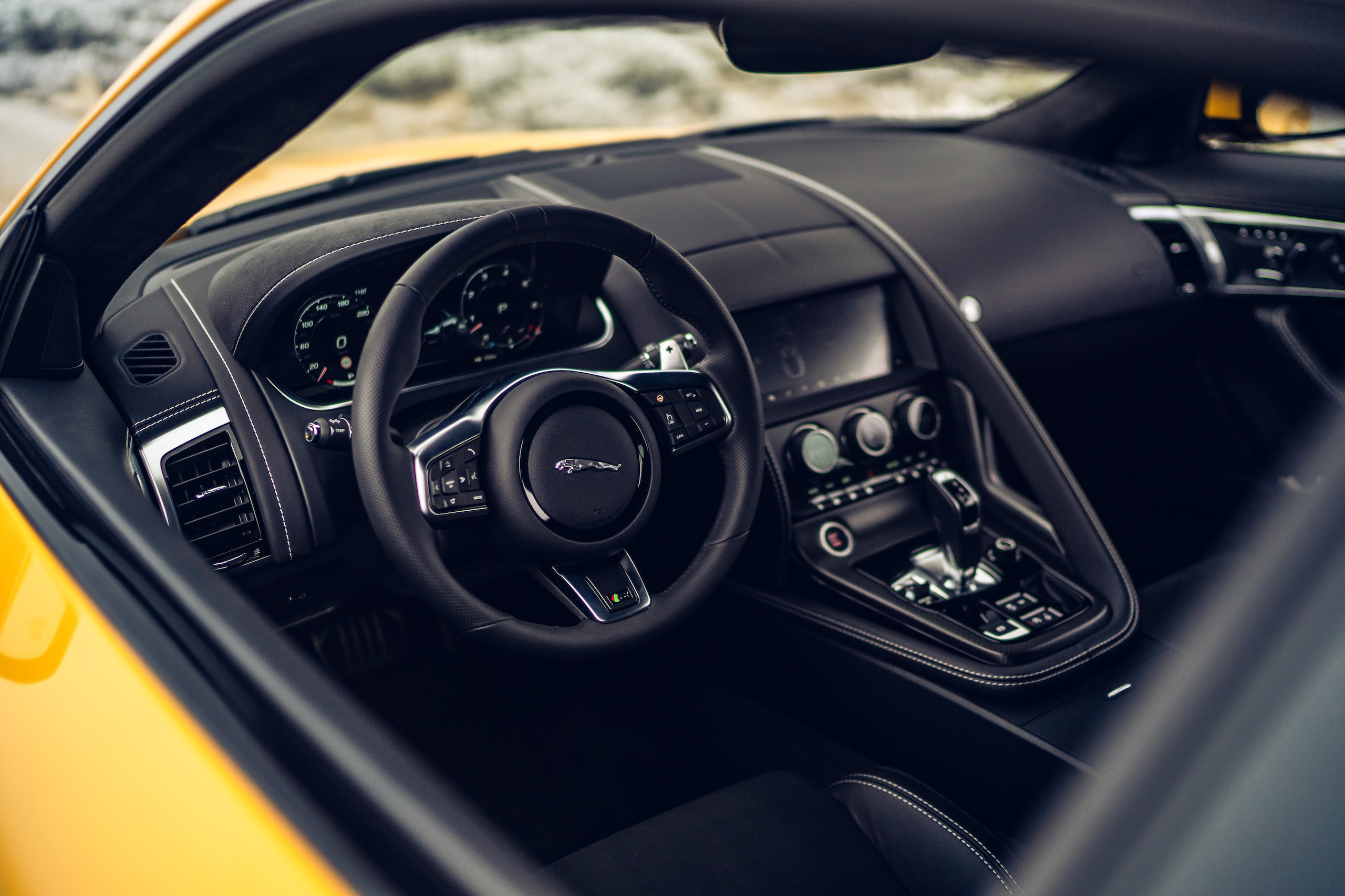 2021 Jaguar F-TYPE_R Coupe interior