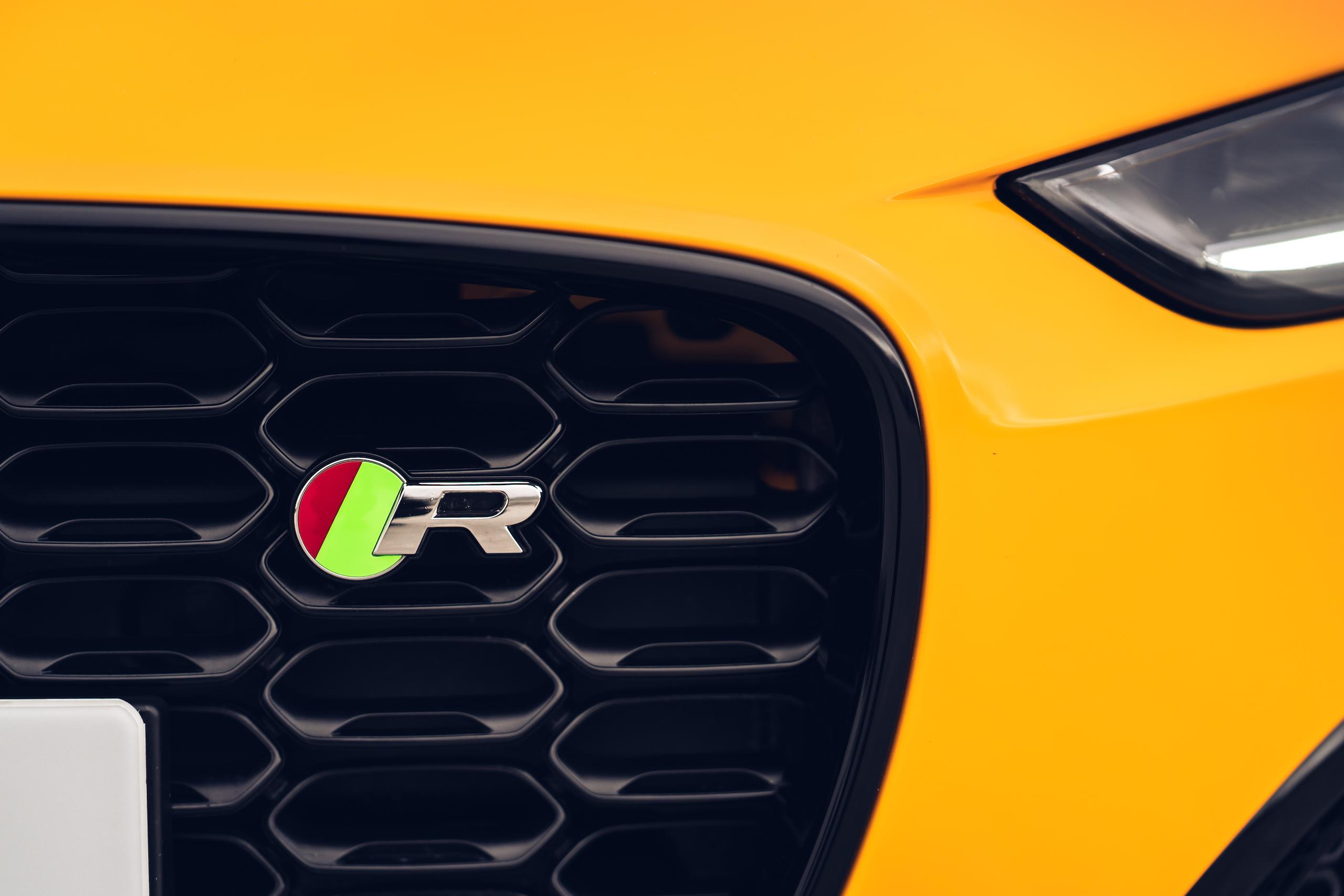 2021 Jaguar F-TYPE_R Coupe front grille detail