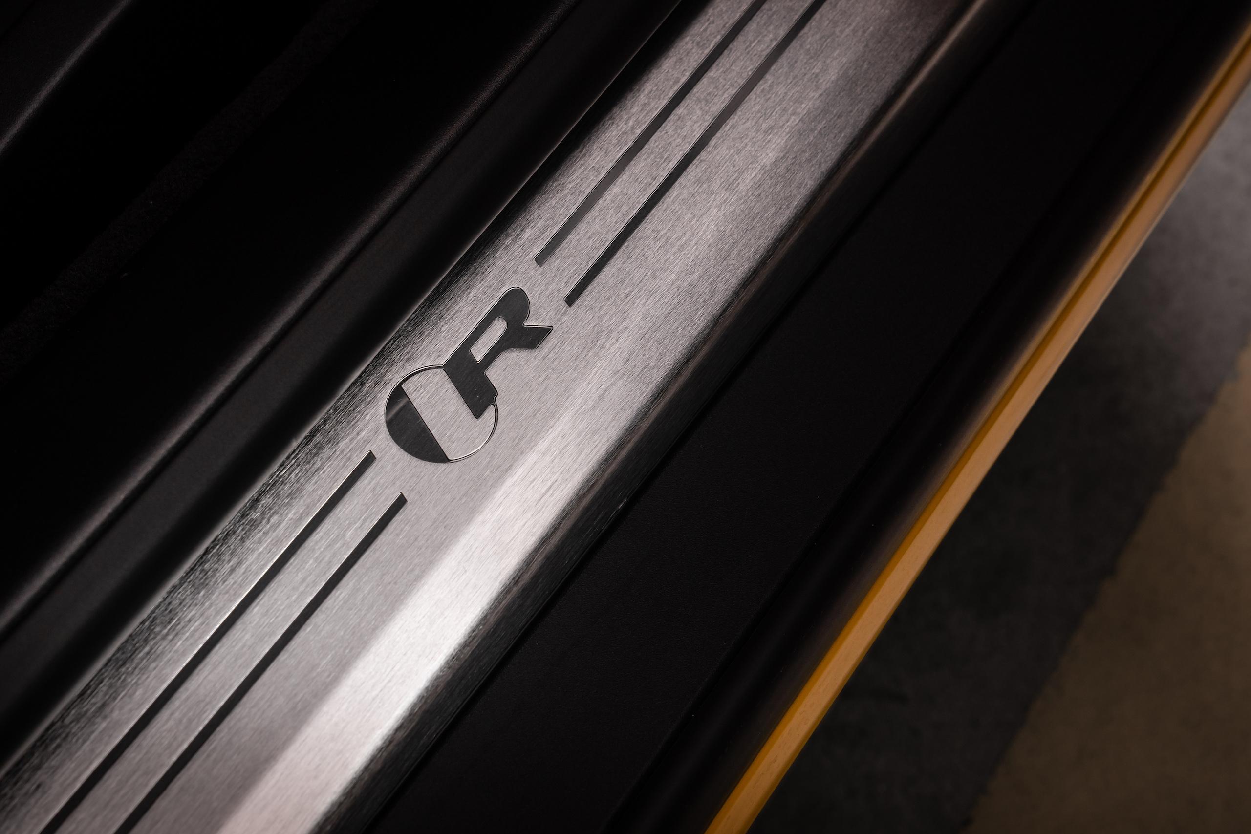 2021 Jaguar F-TYPE_R Coupe interior door sill detail