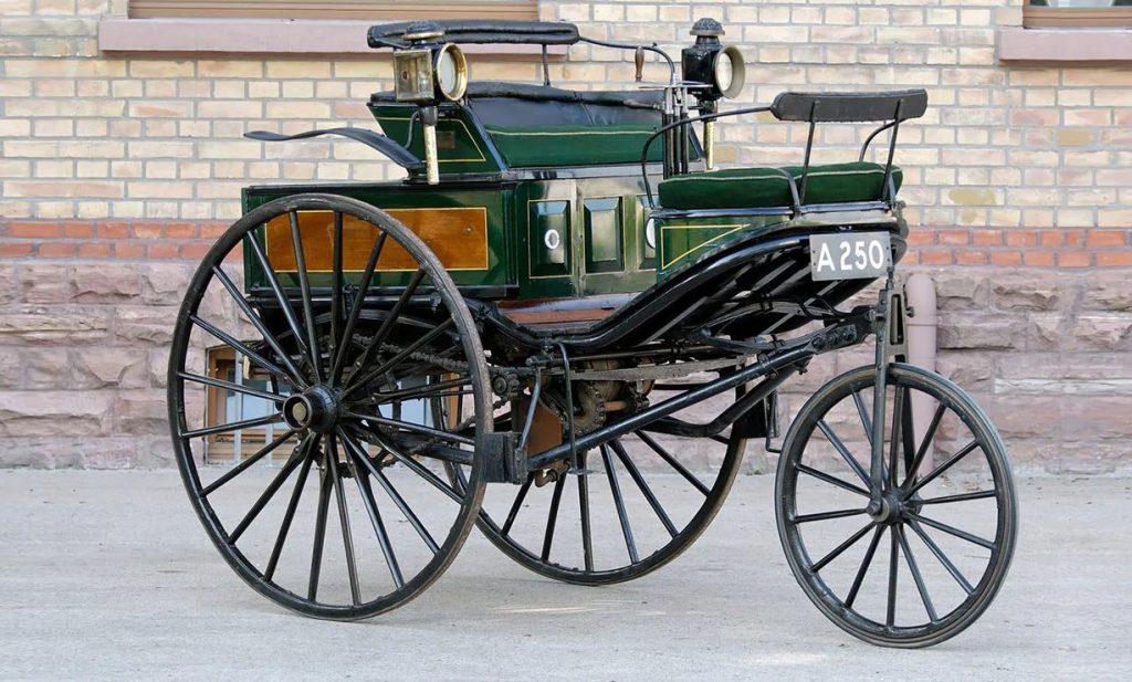 Original 1888 Benz Patent-Motorwagen
