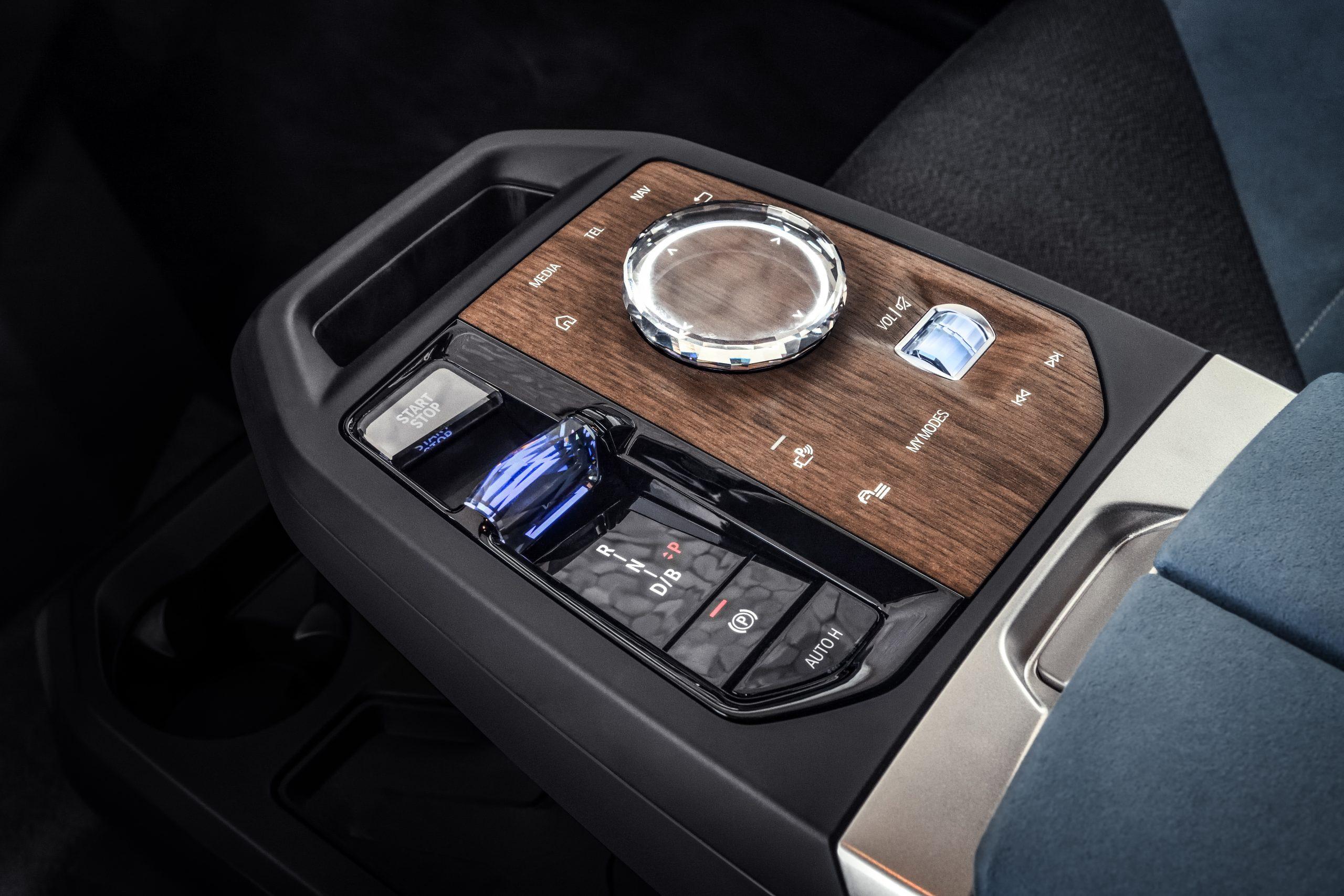 BMW iDrive 8 controller iX