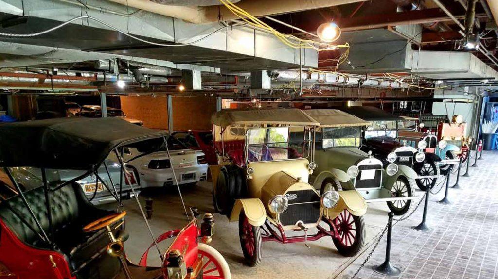 Pontiac Transportation Museum phase one area