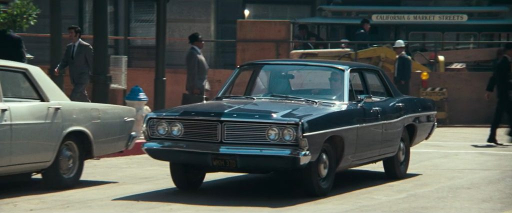 1968 Ford Custom 500 front three-quarter clint eastwood