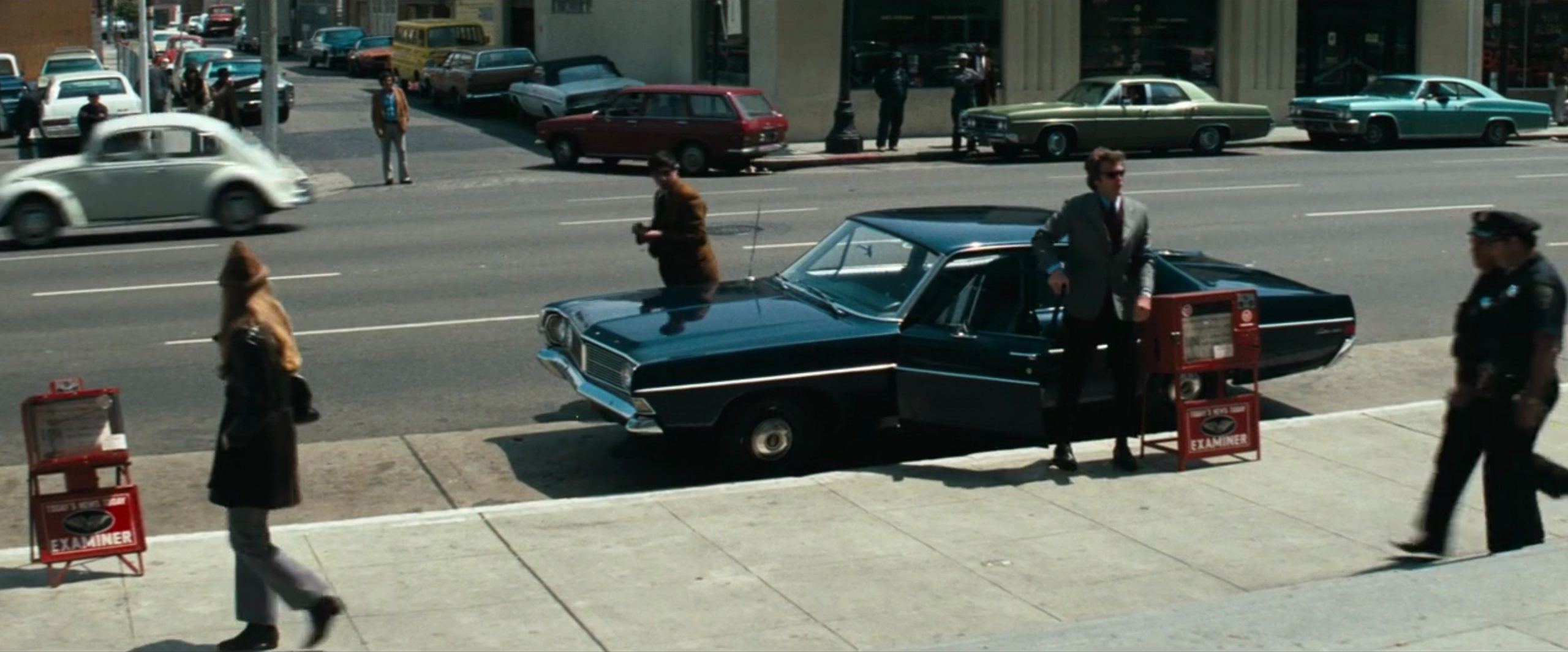 1968 Ford Custom 500 clint eastwood parking still