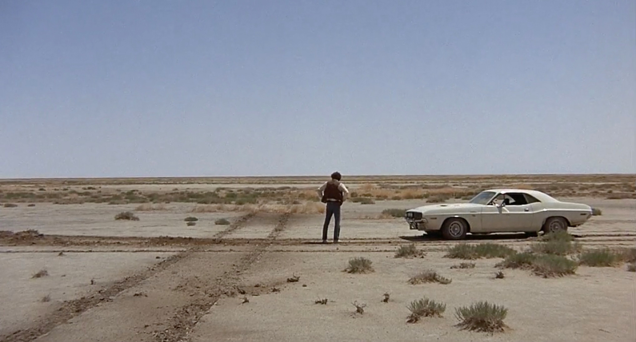 1970 Dodge Challenger R/T 440 Magnum desert stop