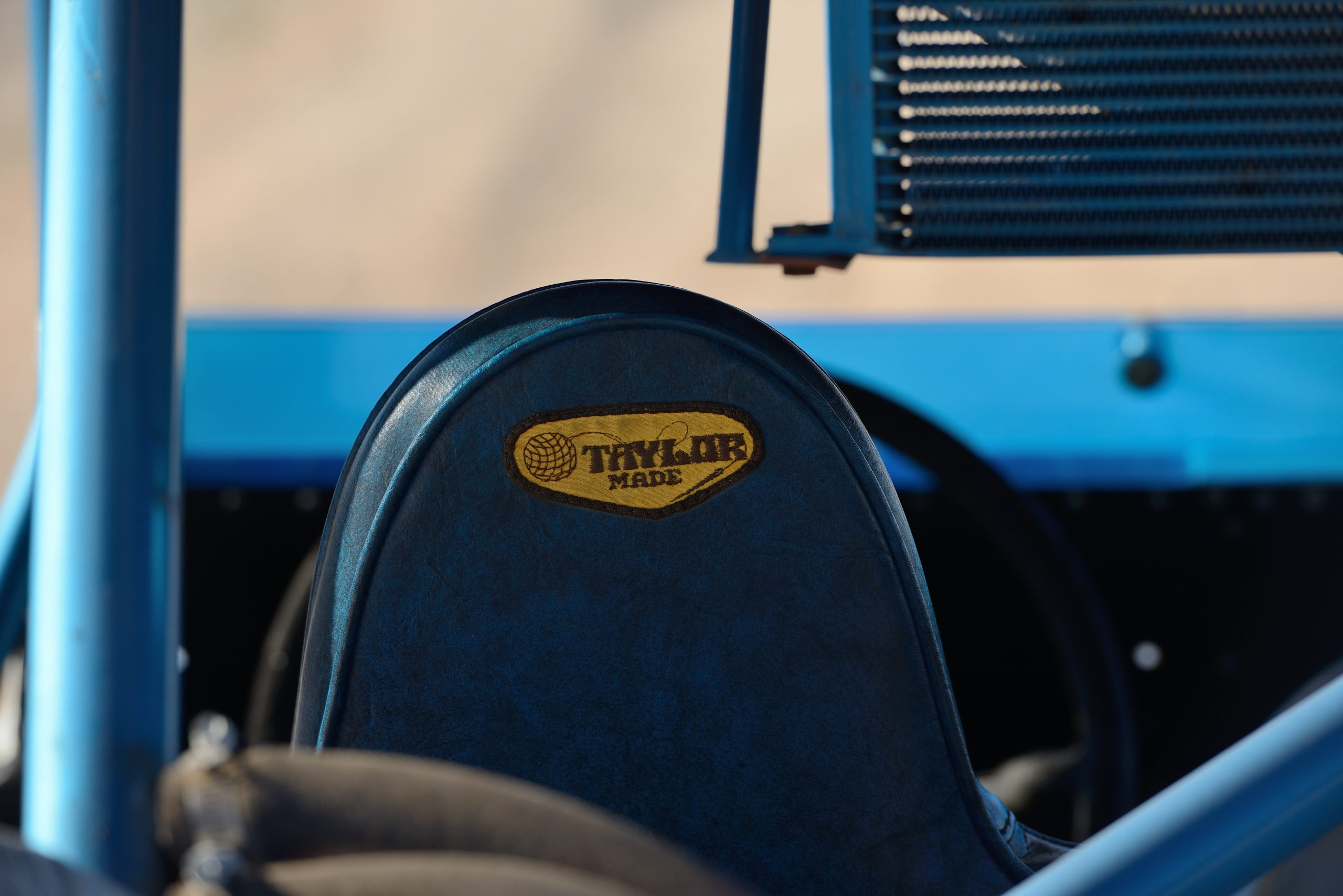Big Oly Bronco interior seat