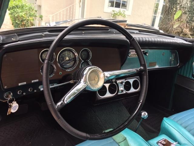 1962 Studebaker GT Hawk interior