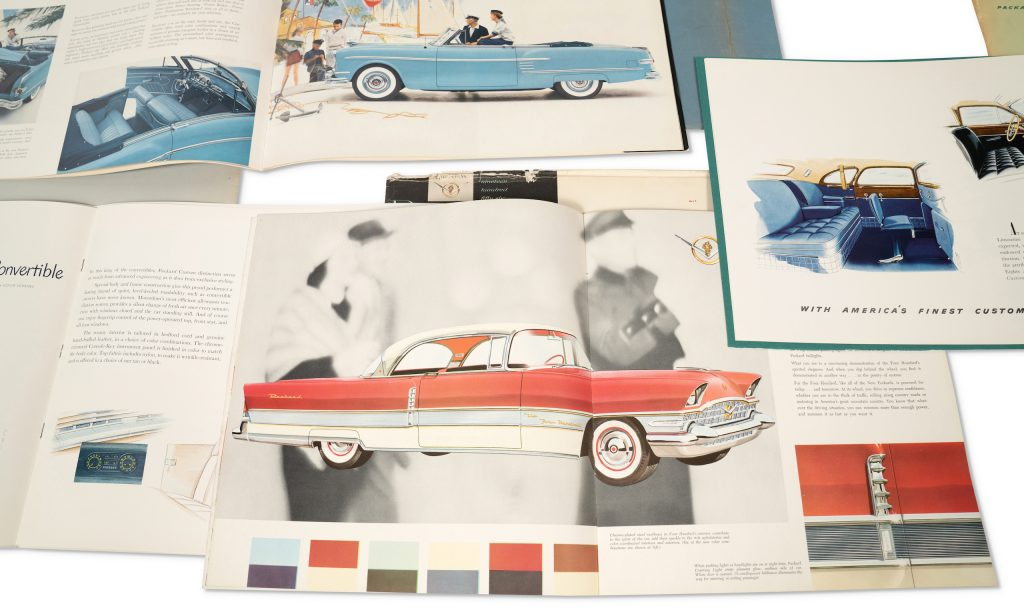 Packard sales brochure