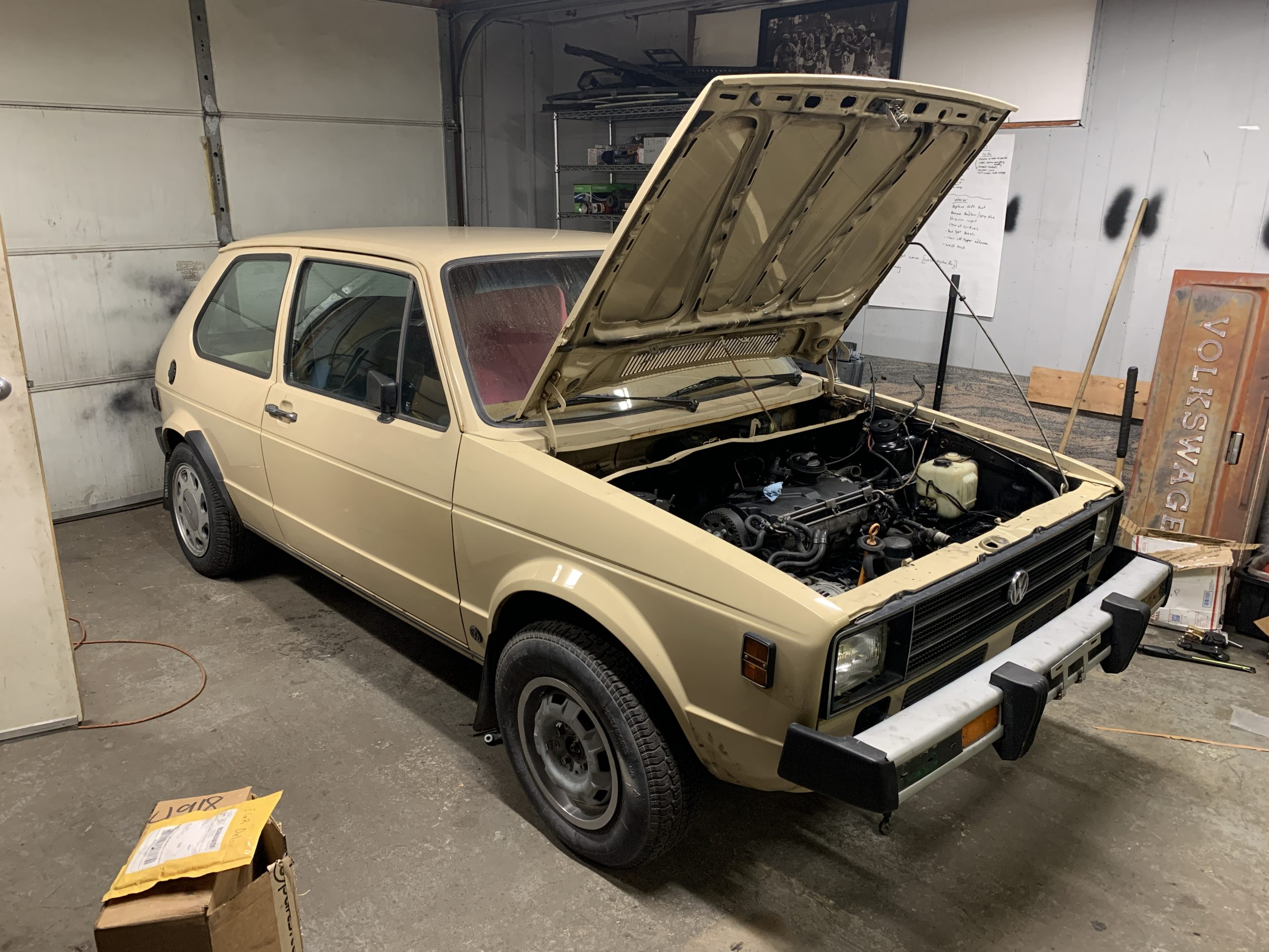 1980 VW Rabbit TDI swap engine Aug 23, 5 44 37 PM