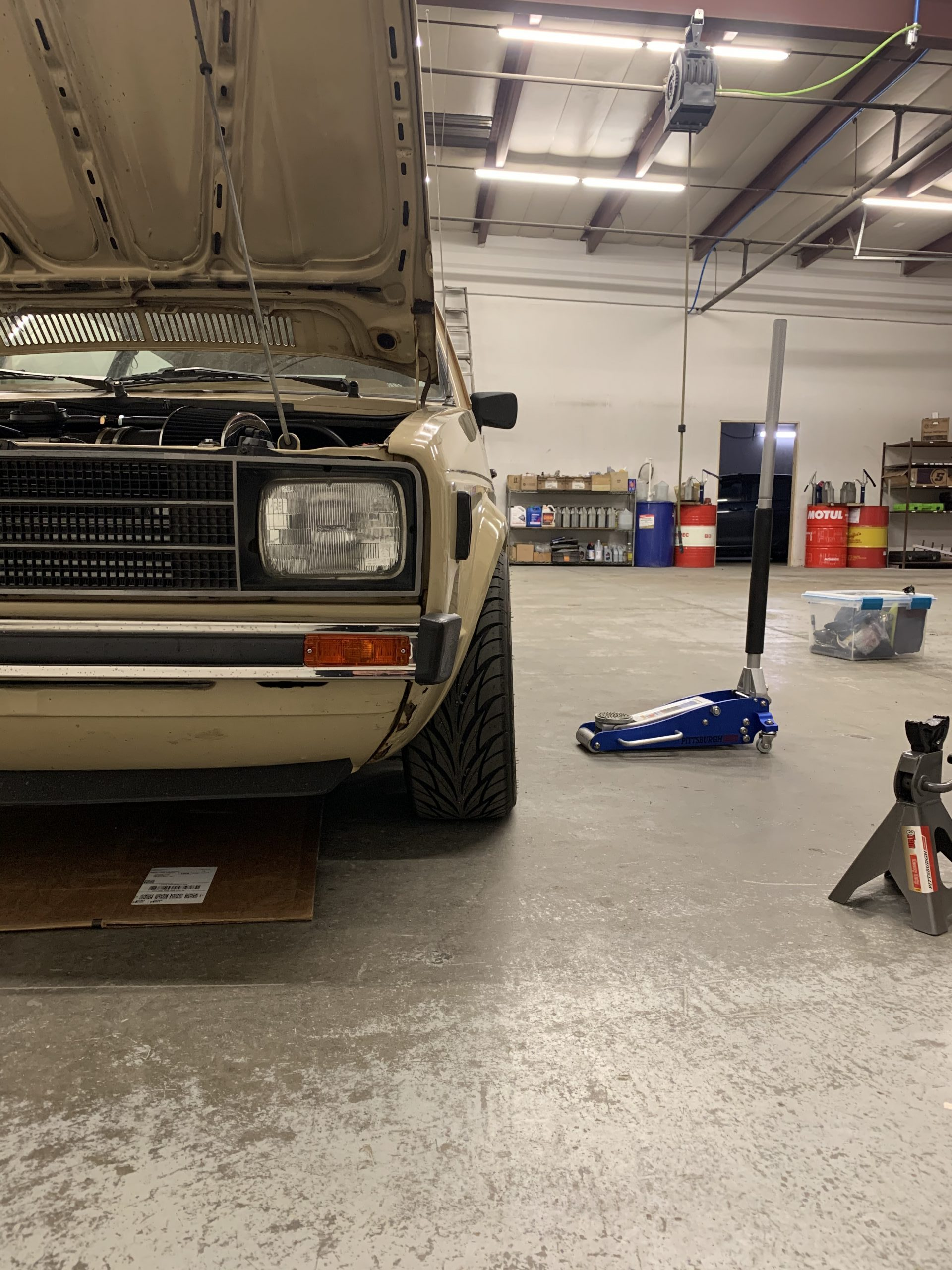 1980 VW Rabbit TDI swap shop Feb 27, 1 08 59 PM