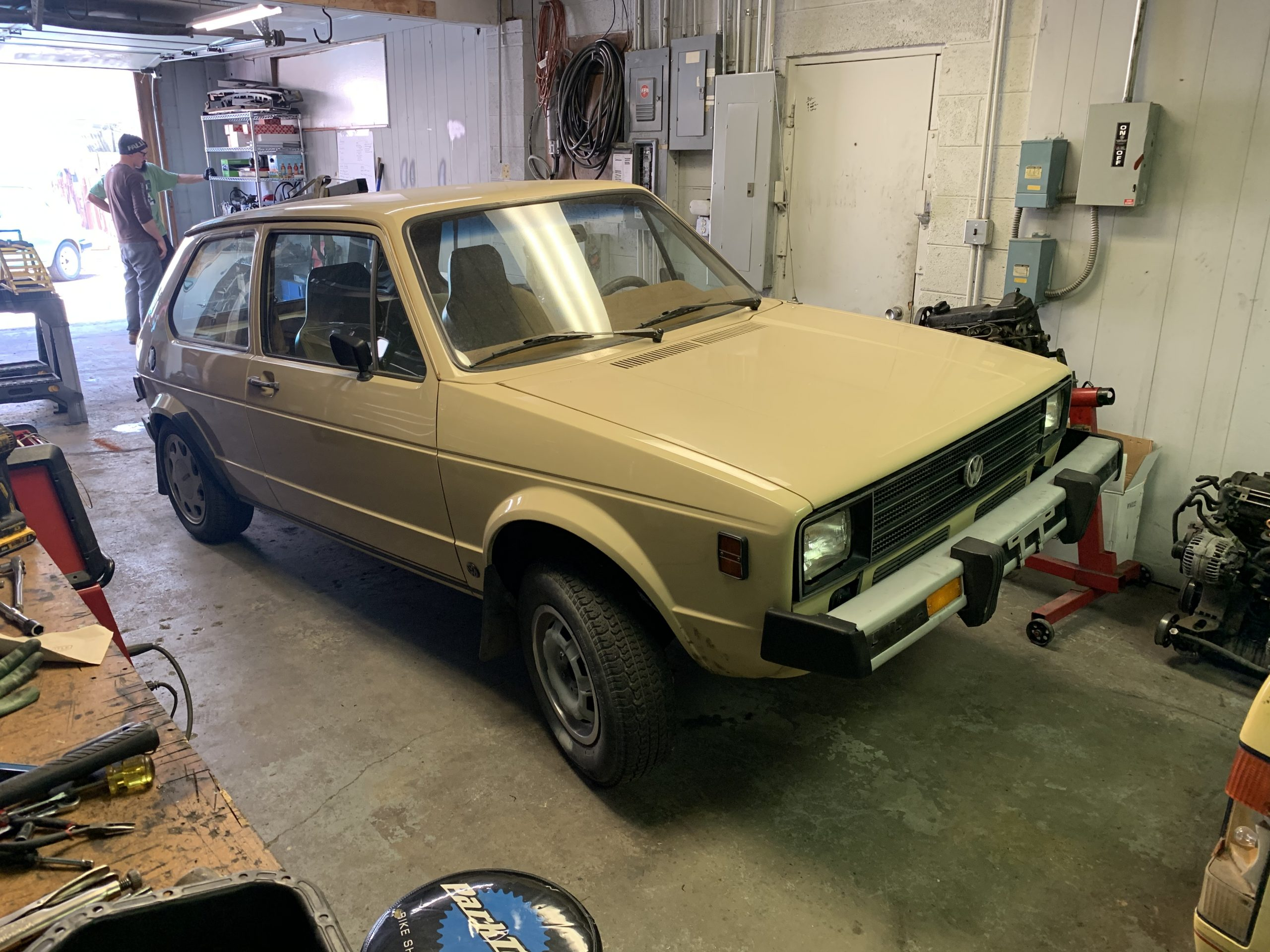 1980 VW Rabbit TDI swap shop before Jul 05, 2 07 35 PM