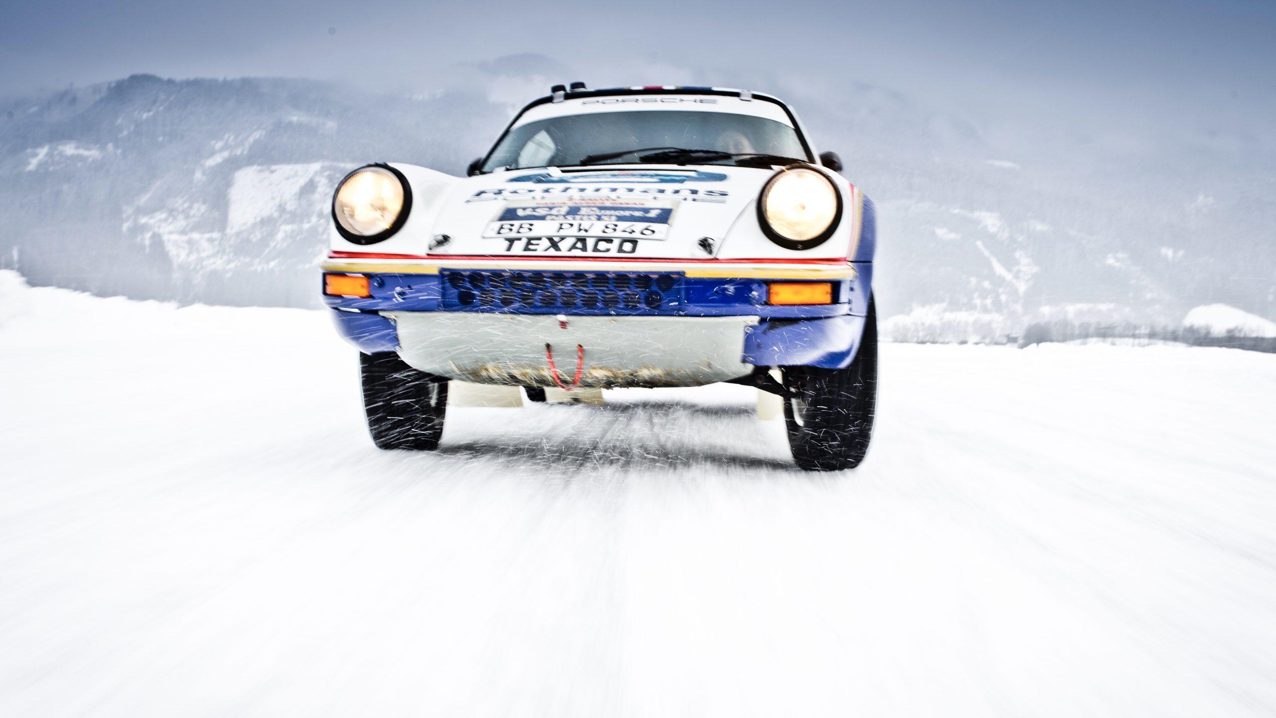 Porsche 953/Walter Röhrl front end