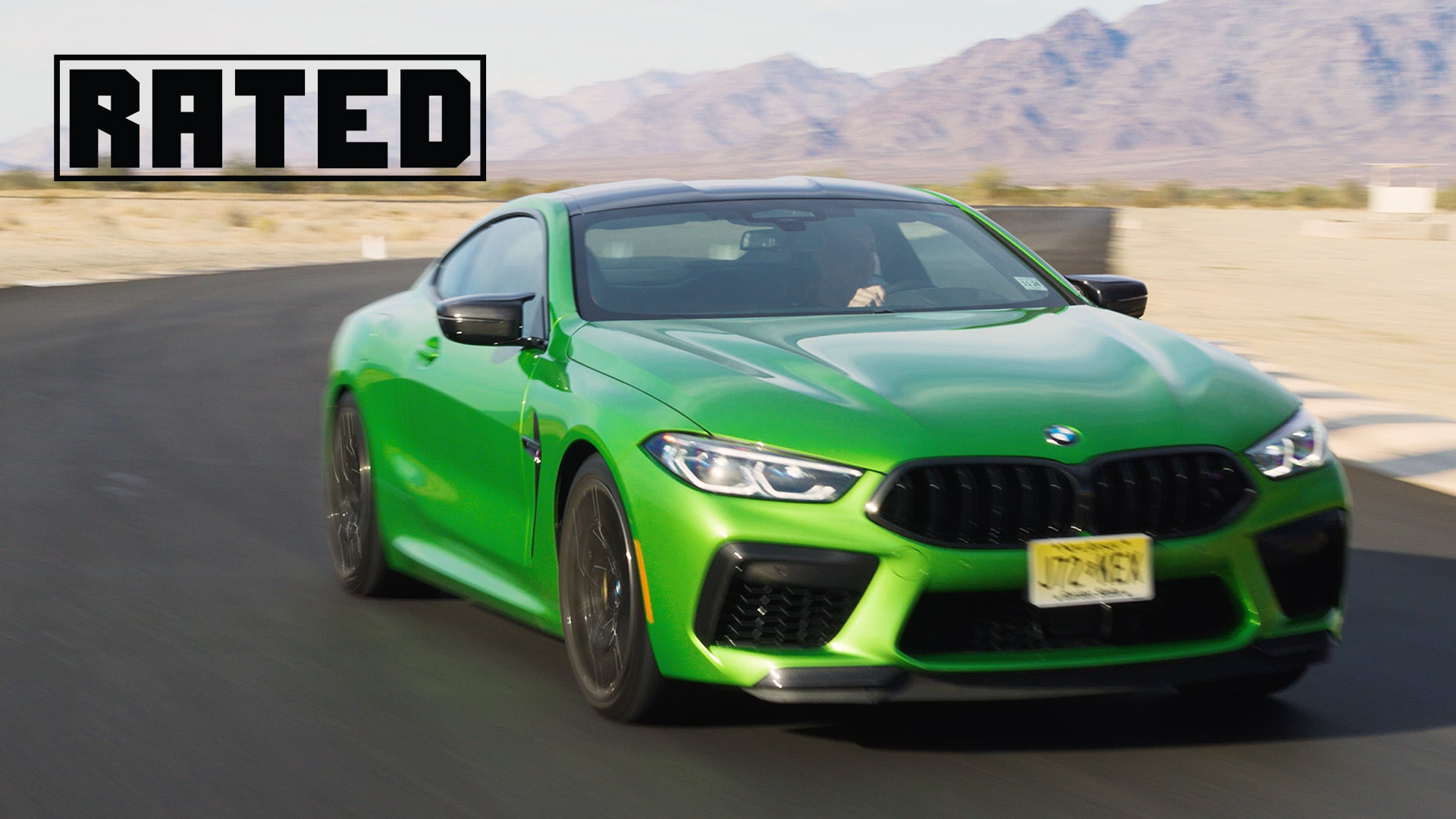 Rated 2020 BMW M8