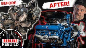 '57 Cadillac V-8 engine rebuild time-lapse | Redline Rebuild