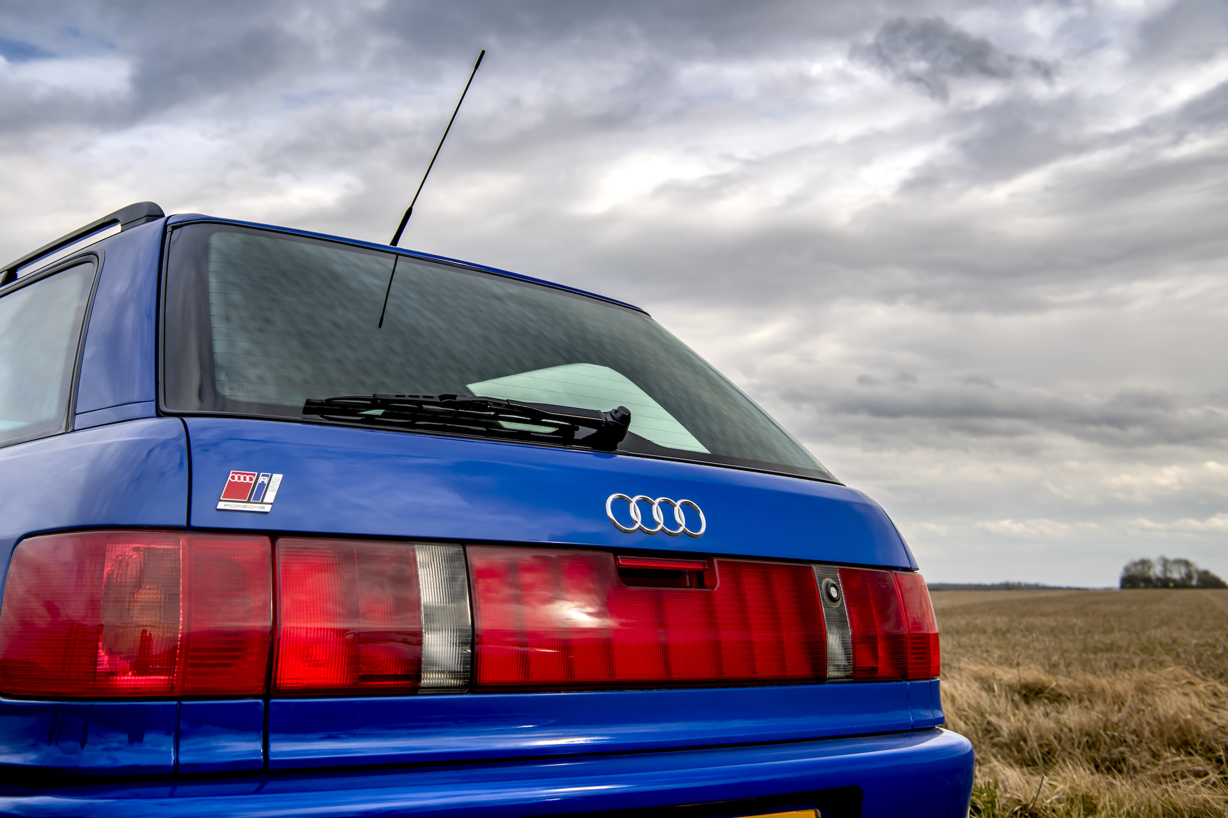 Audi RS2 rear hatch