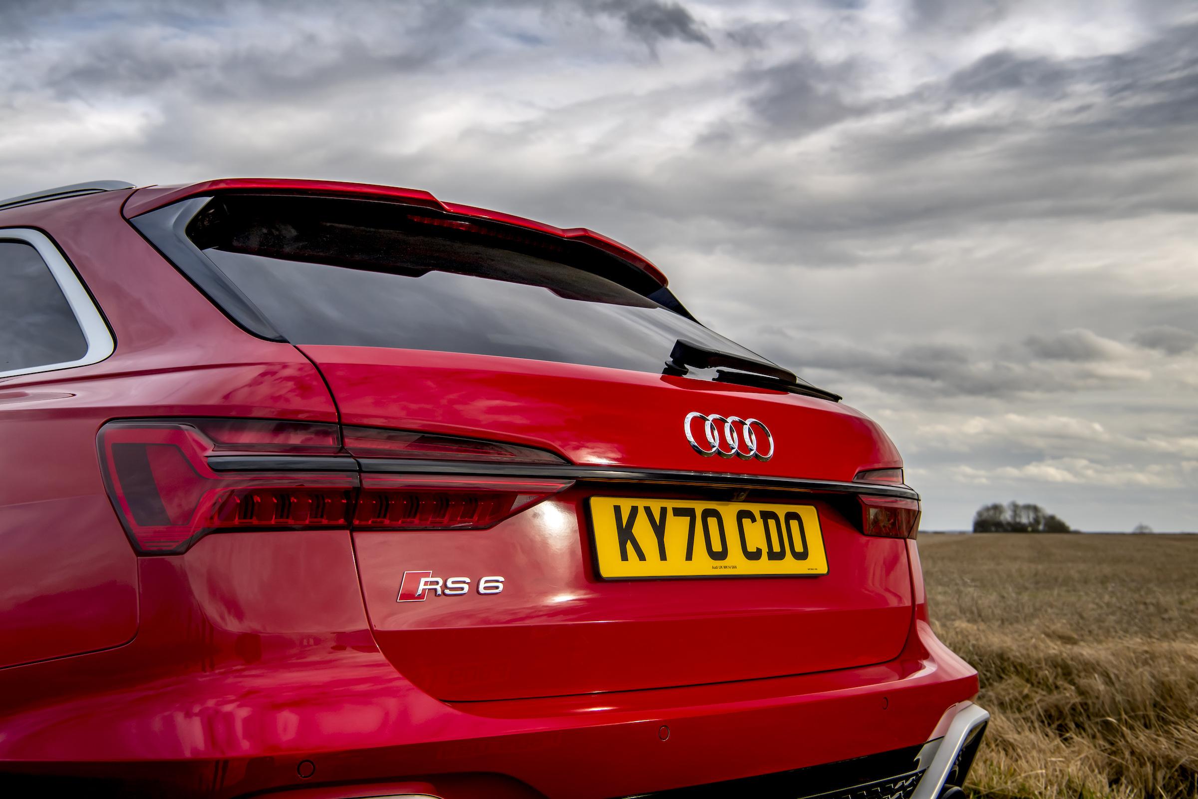 Audi RS6 rear hatch