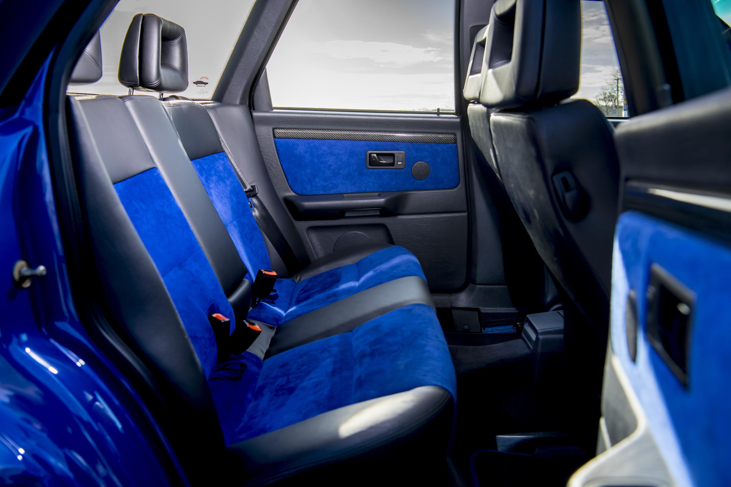 Audi RS2 interior rear seat