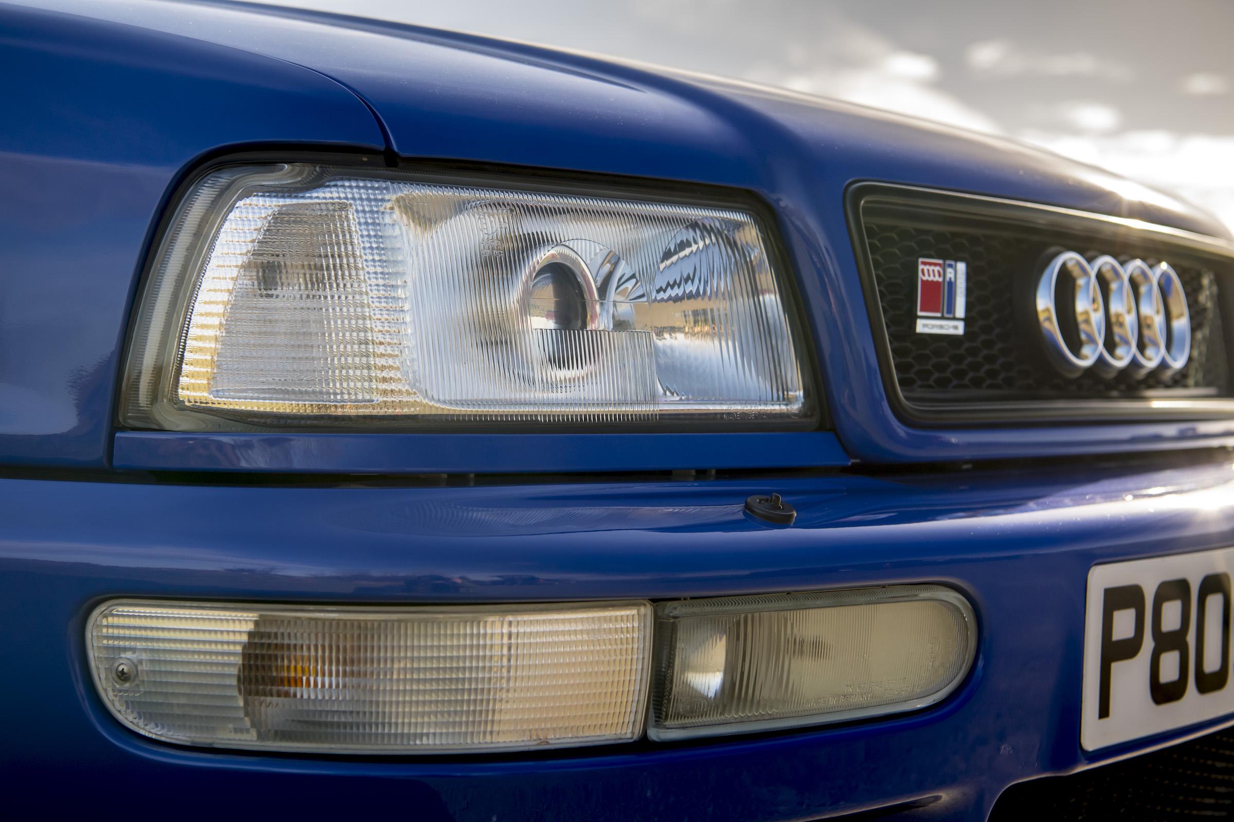 Audi RS2 front headlight
