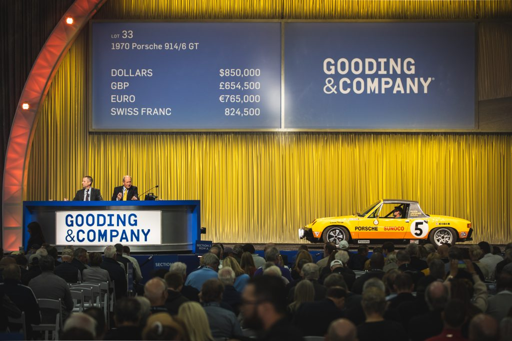 2020 scottsdale auction gooding and company auction